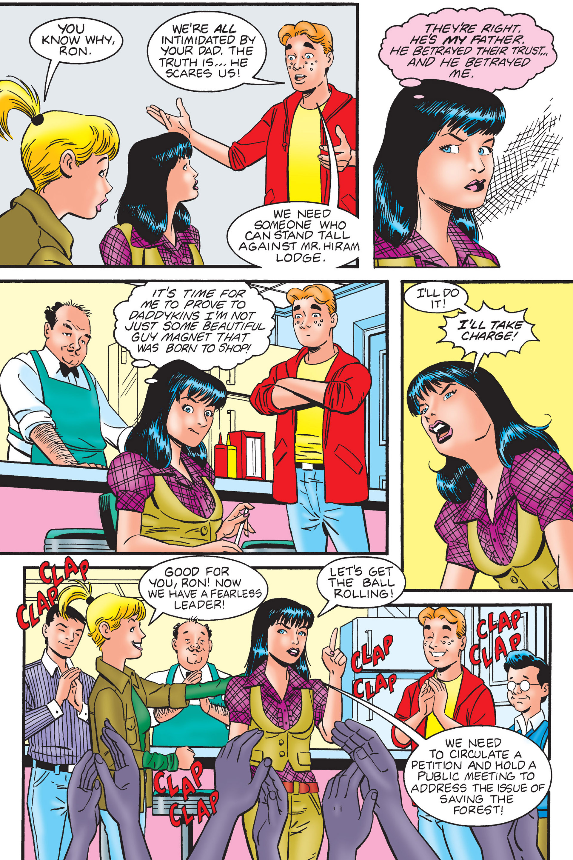 Read online Archie's New Look Series comic -  Issue #4 - 35
