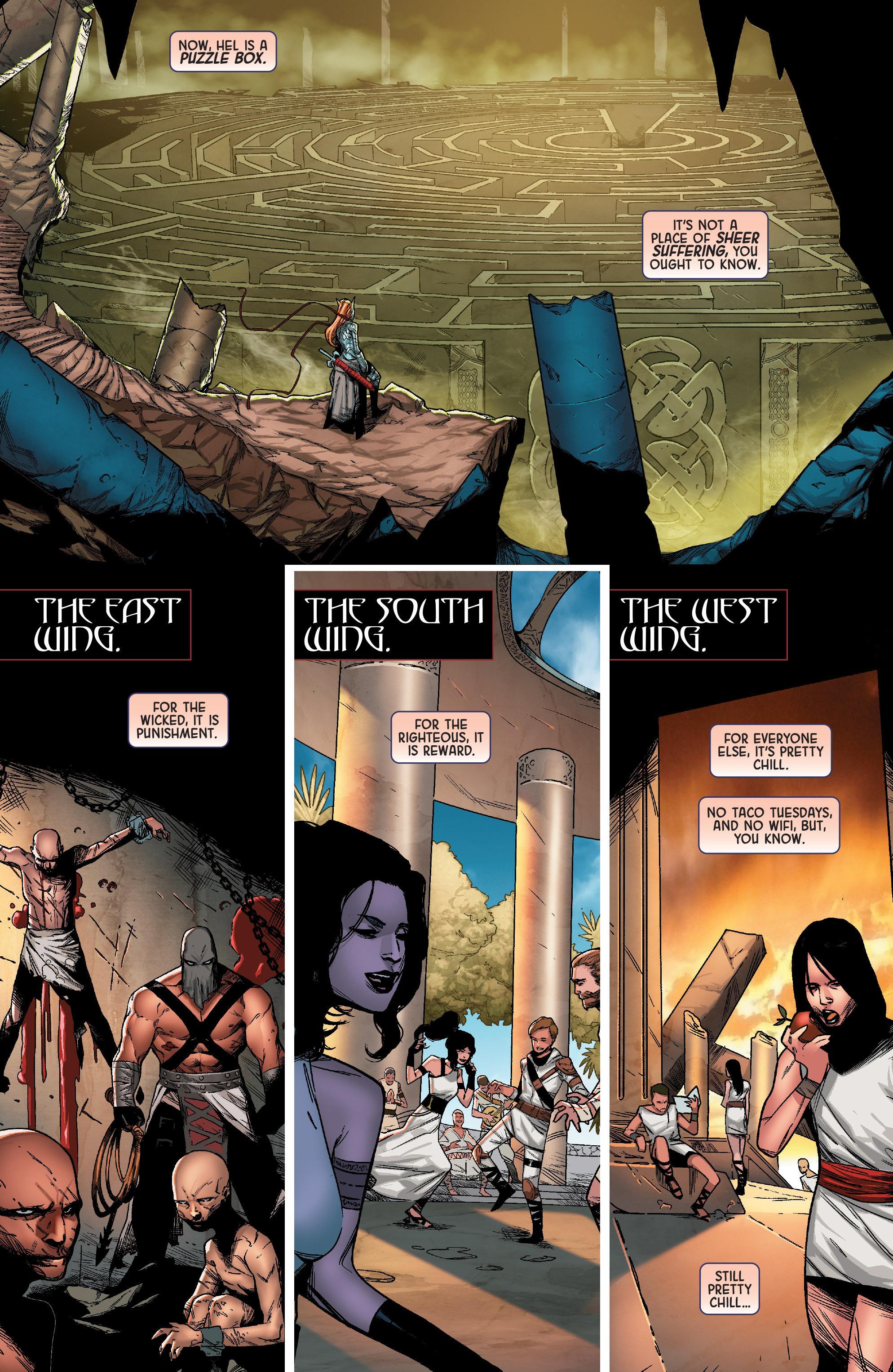 Read online Angela: Queen Of Hel comic -  Issue #1 - 5