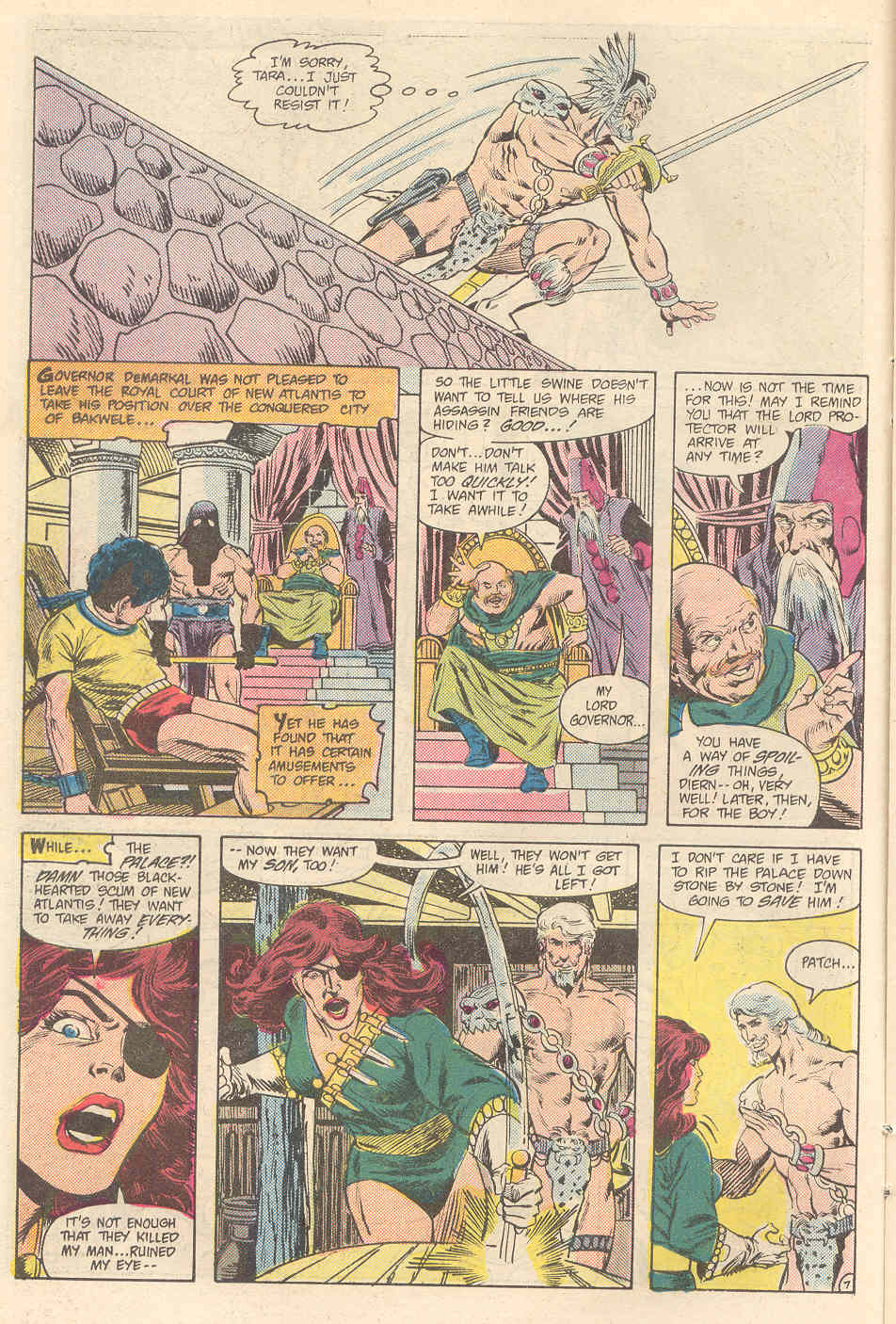 Warlord (1976) issue 89 - Page 7