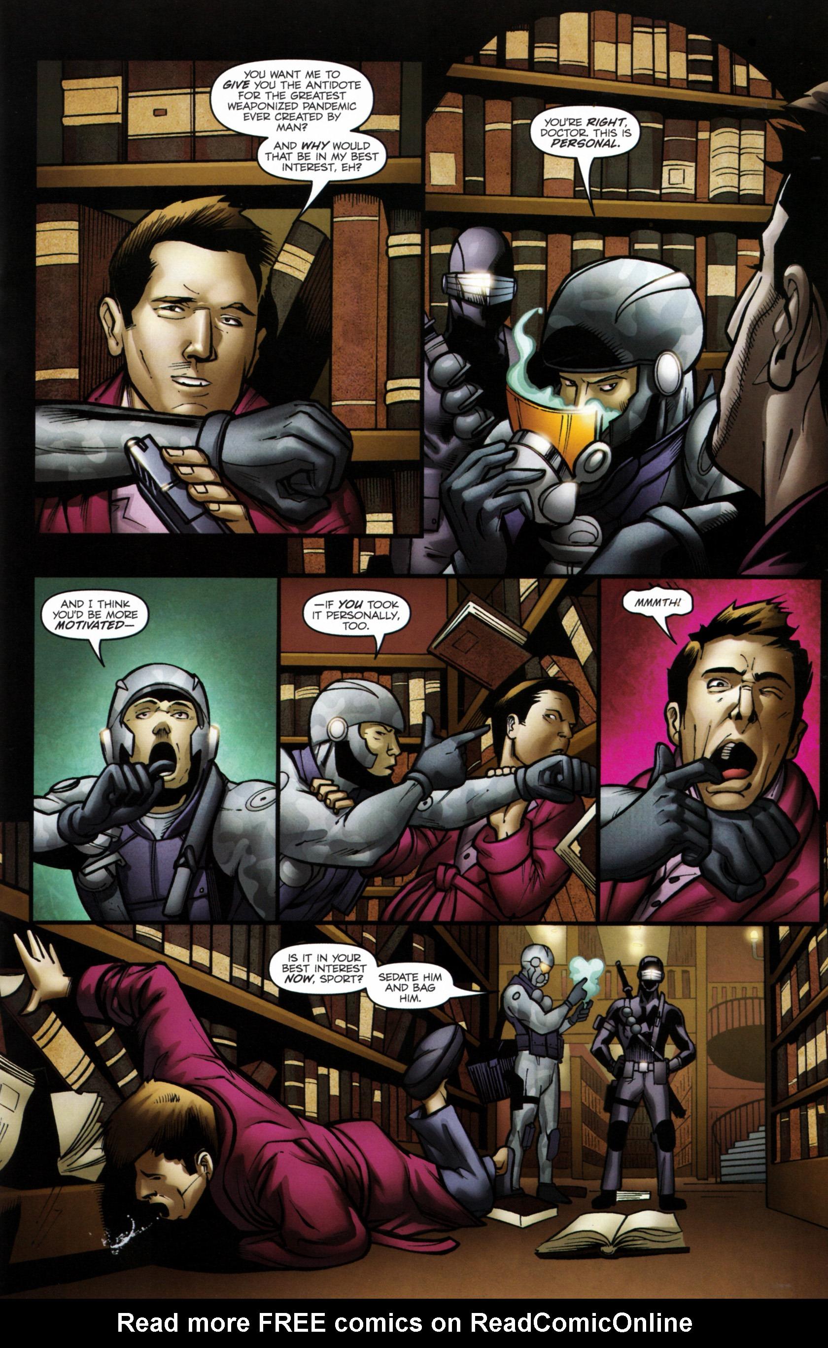 Read online G.I. Joe: Snake Eyes comic -  Issue #6 - 14