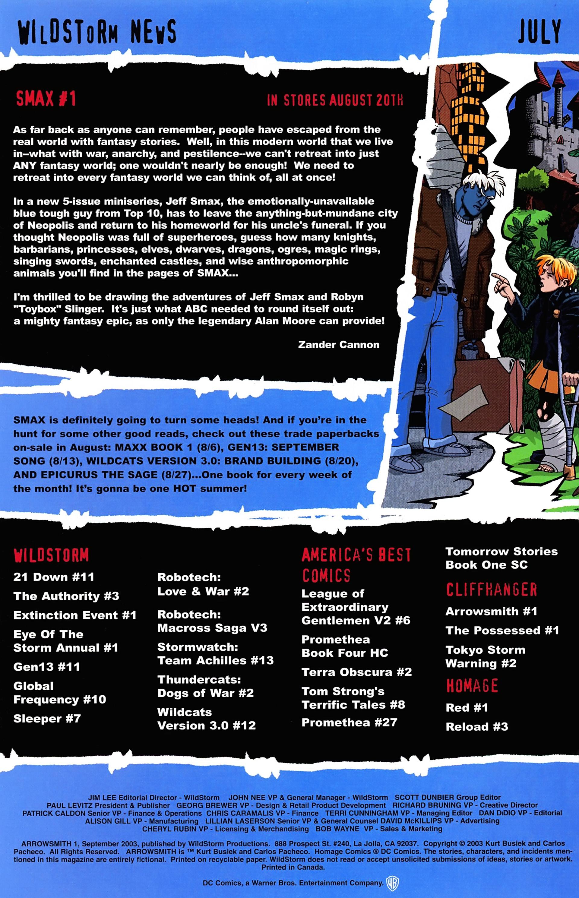 Read online Arrowsmith comic -  Issue #1 - 25