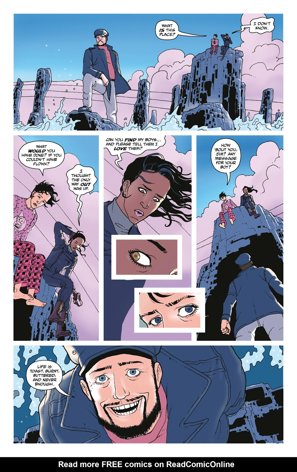 Read online She Could Fly comic -  Issue # _TPB - 106