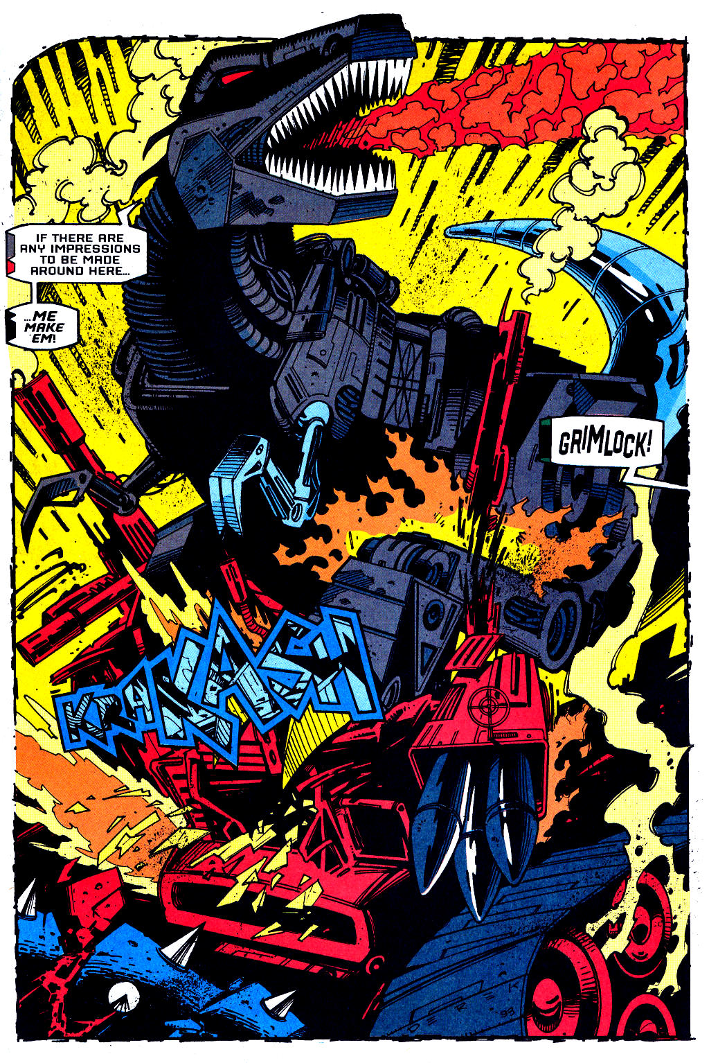 Read online Transformers: Generation 2 comic -  Issue #1 - 8