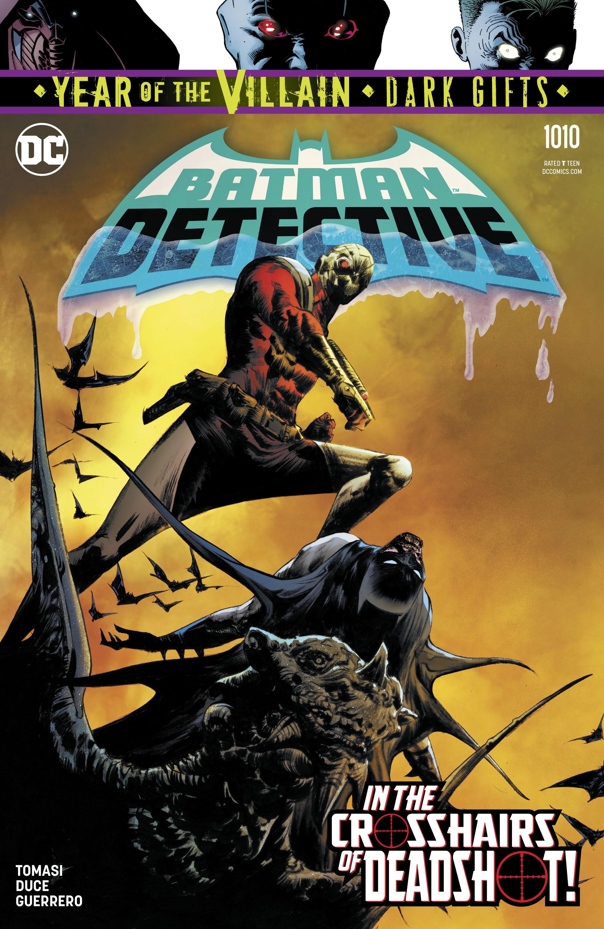 Detective Comics (2016) 1010 Page 1