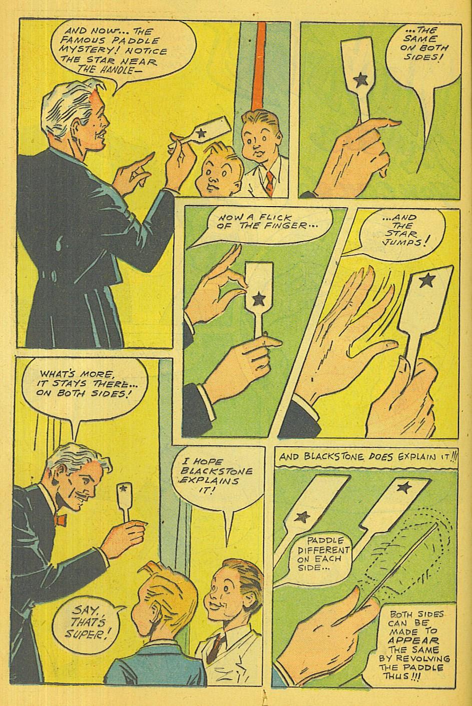 Read online Super-Magician Comics comic -  Issue #39 - 17
