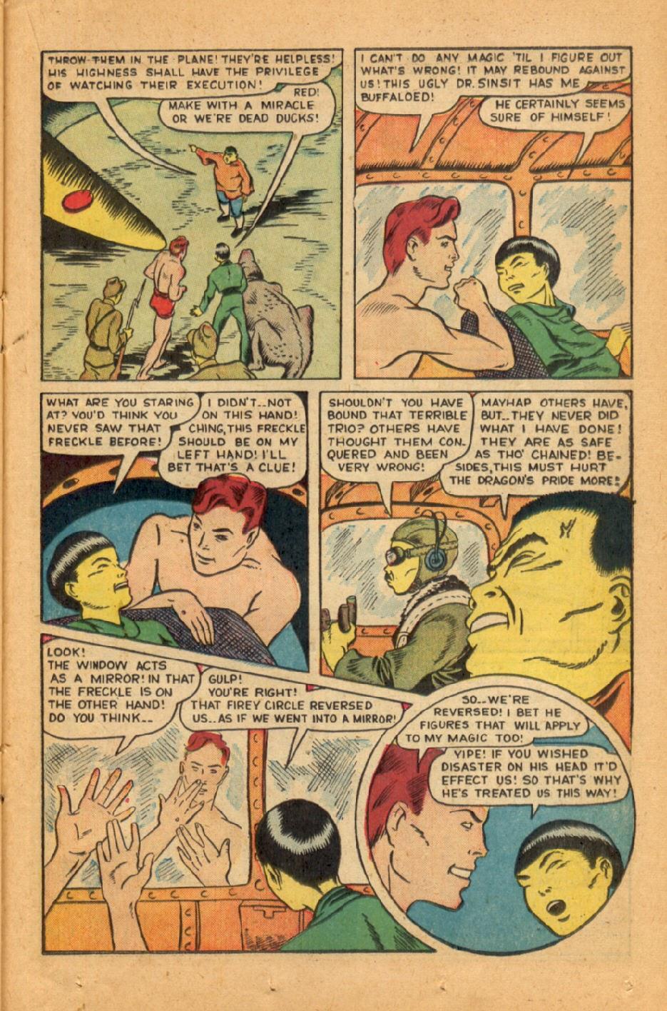 Read online Super-Magician Comics comic -  Issue #45 - 31