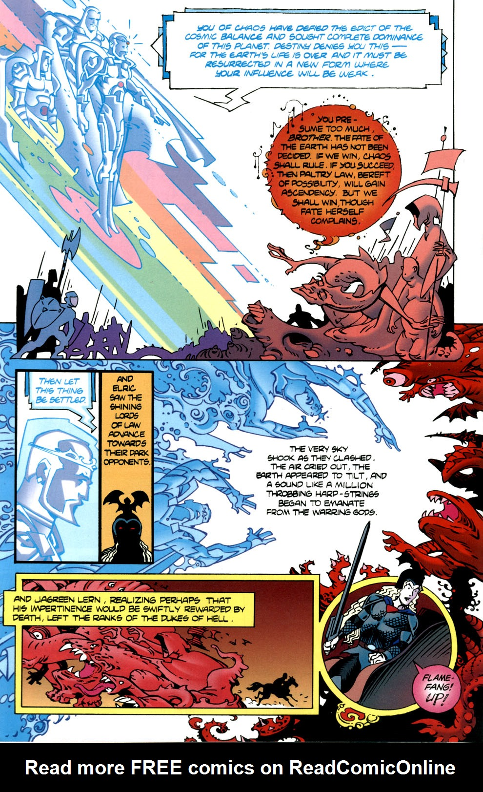 Read online Elric: Stormbringer comic -  Issue #7 - 12