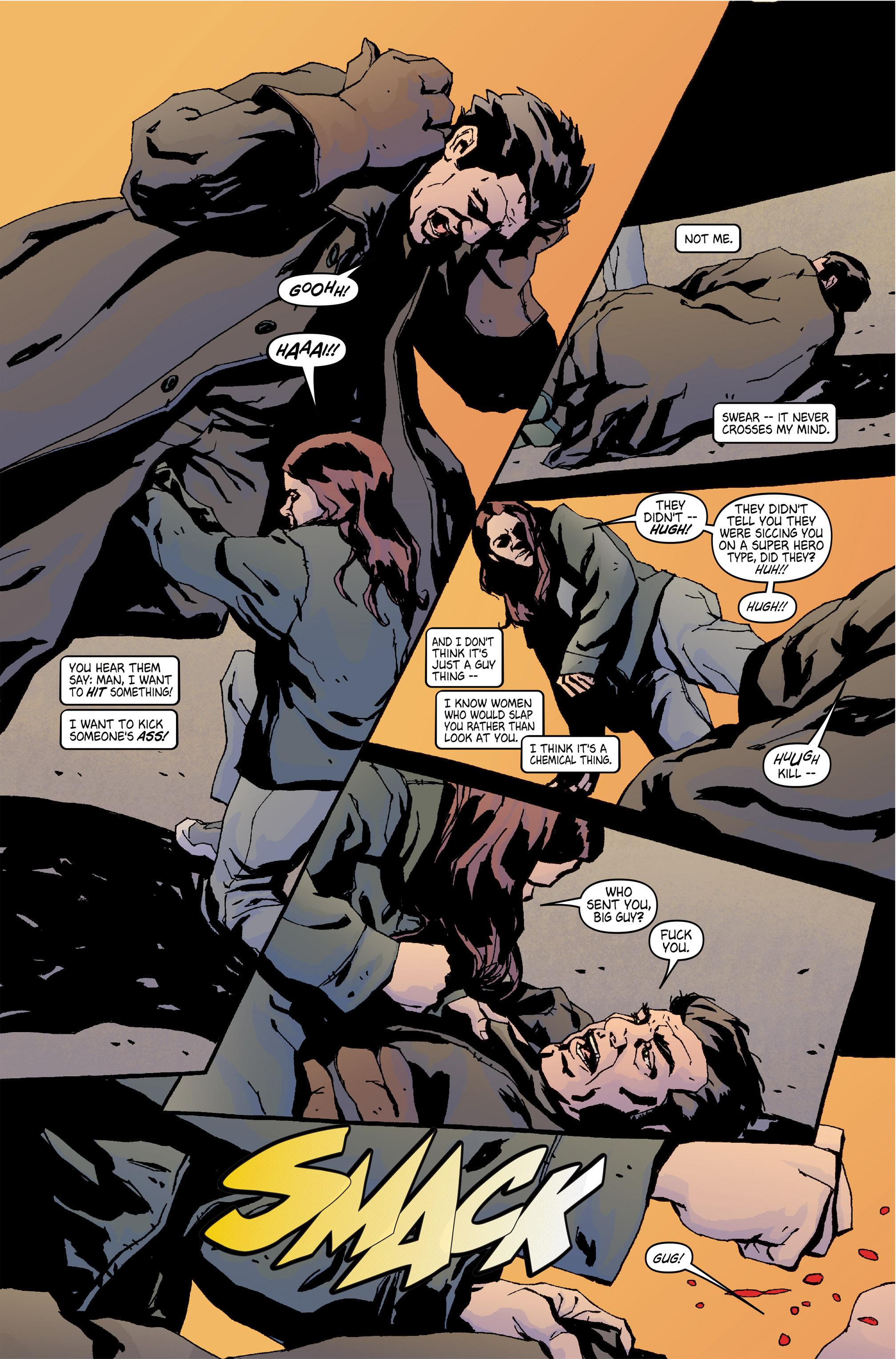 Read online Alias comic -  Issue #5 - 5