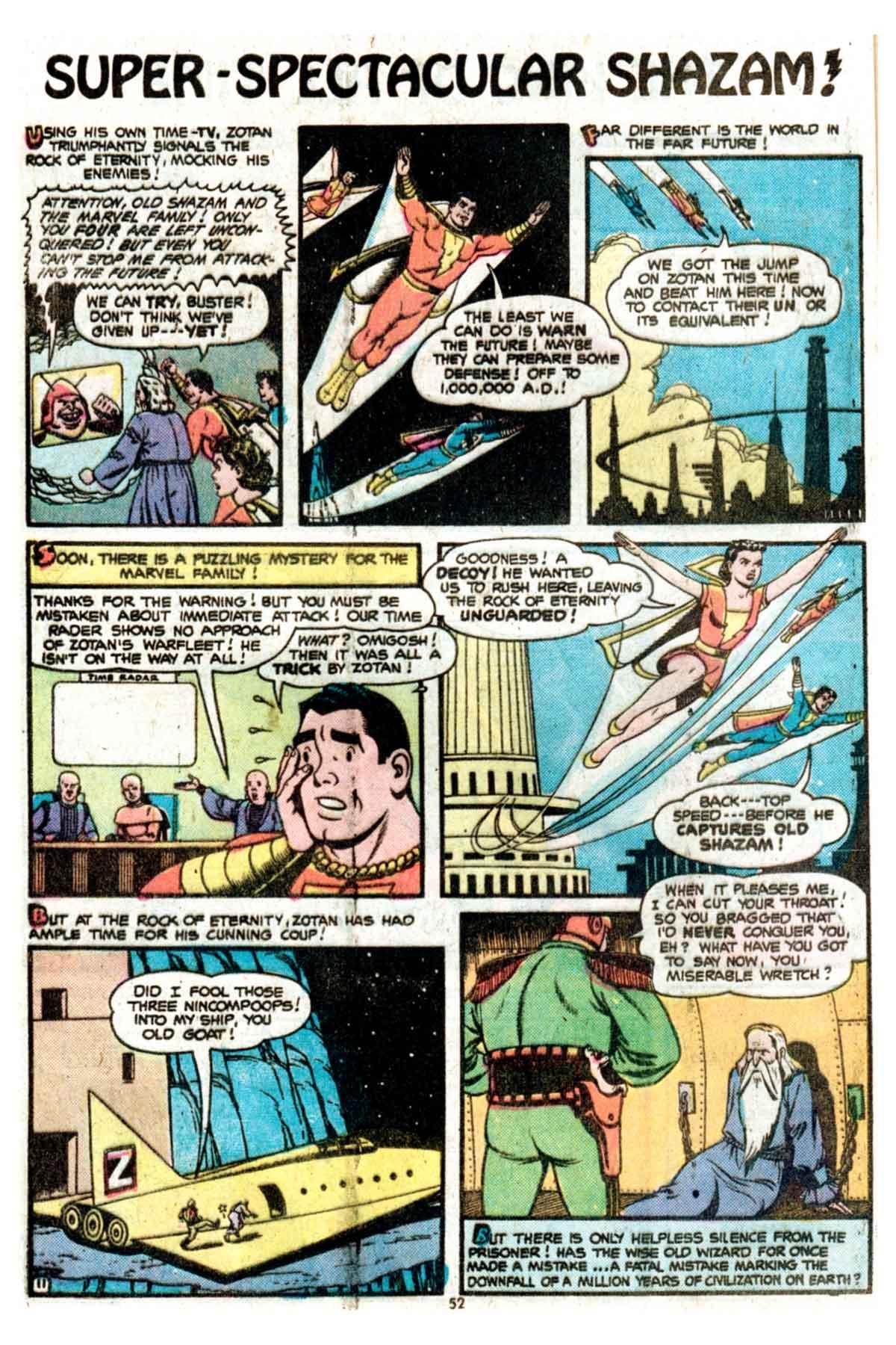 Read online Shazam! (1973) comic -  Issue #15 - 52