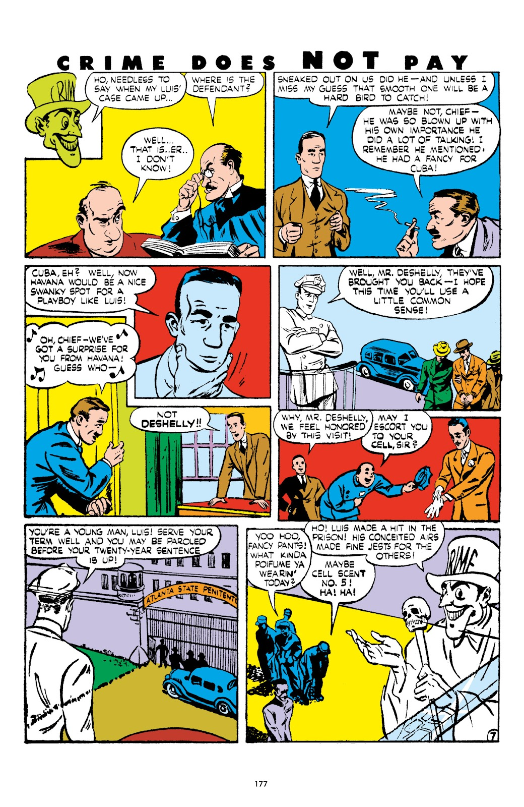 Read online Crime Does Not Pay Archives comic -  Issue # TPB 5 (Part 2) - 77