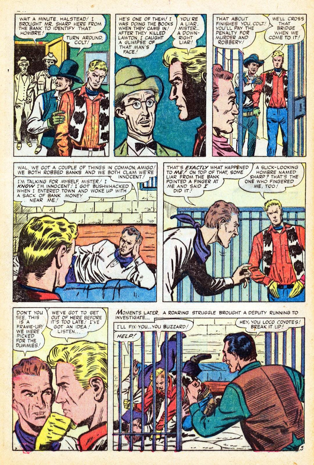 Gunsmoke Western issue 37 - Page 12