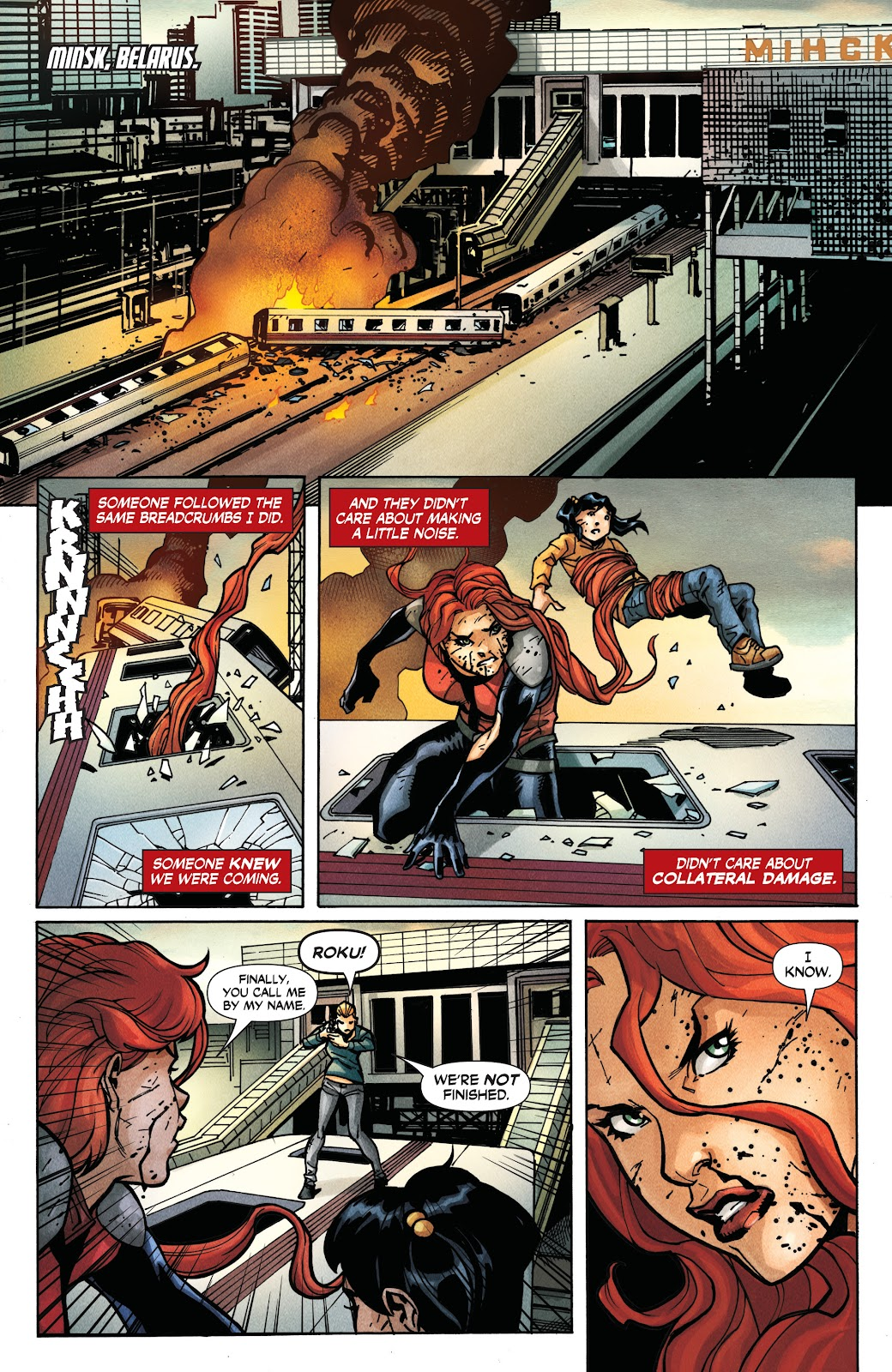 Read online Roku comic -  Issue #3 - 19