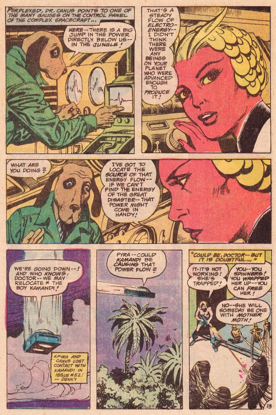 Kamandi, The Last Boy On Earth issue 54 - Page 15