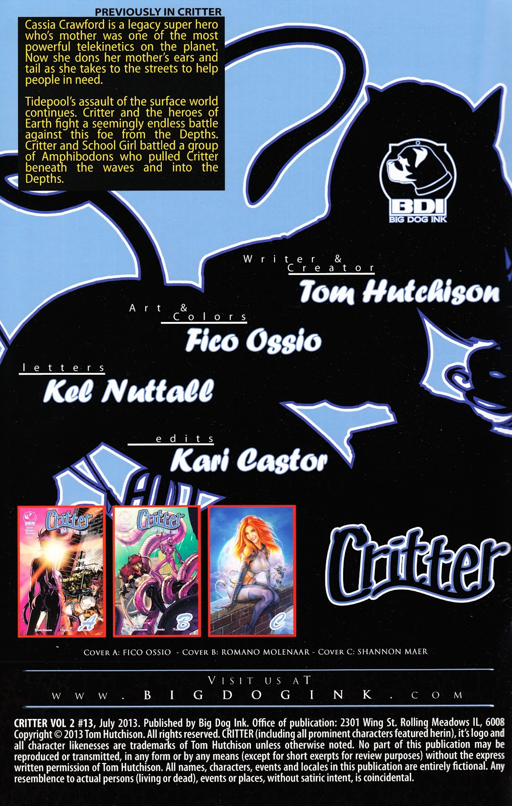 Read online Critter (2012) comic -  Issue #13 - 2