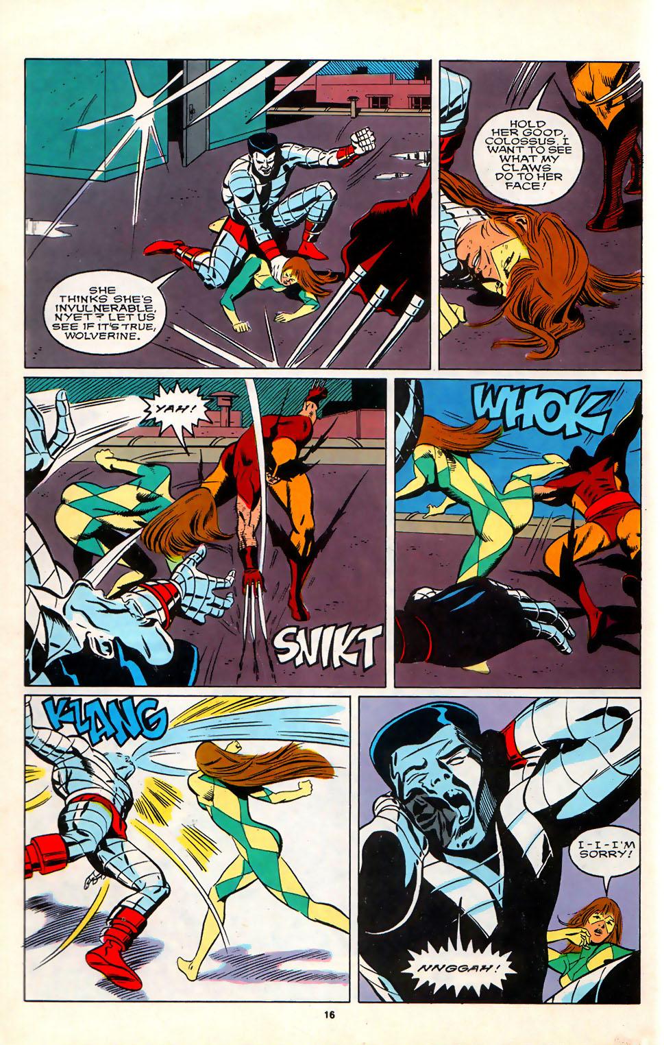 Read online Alpha Flight (1983) comic -  Issue #75 - 14