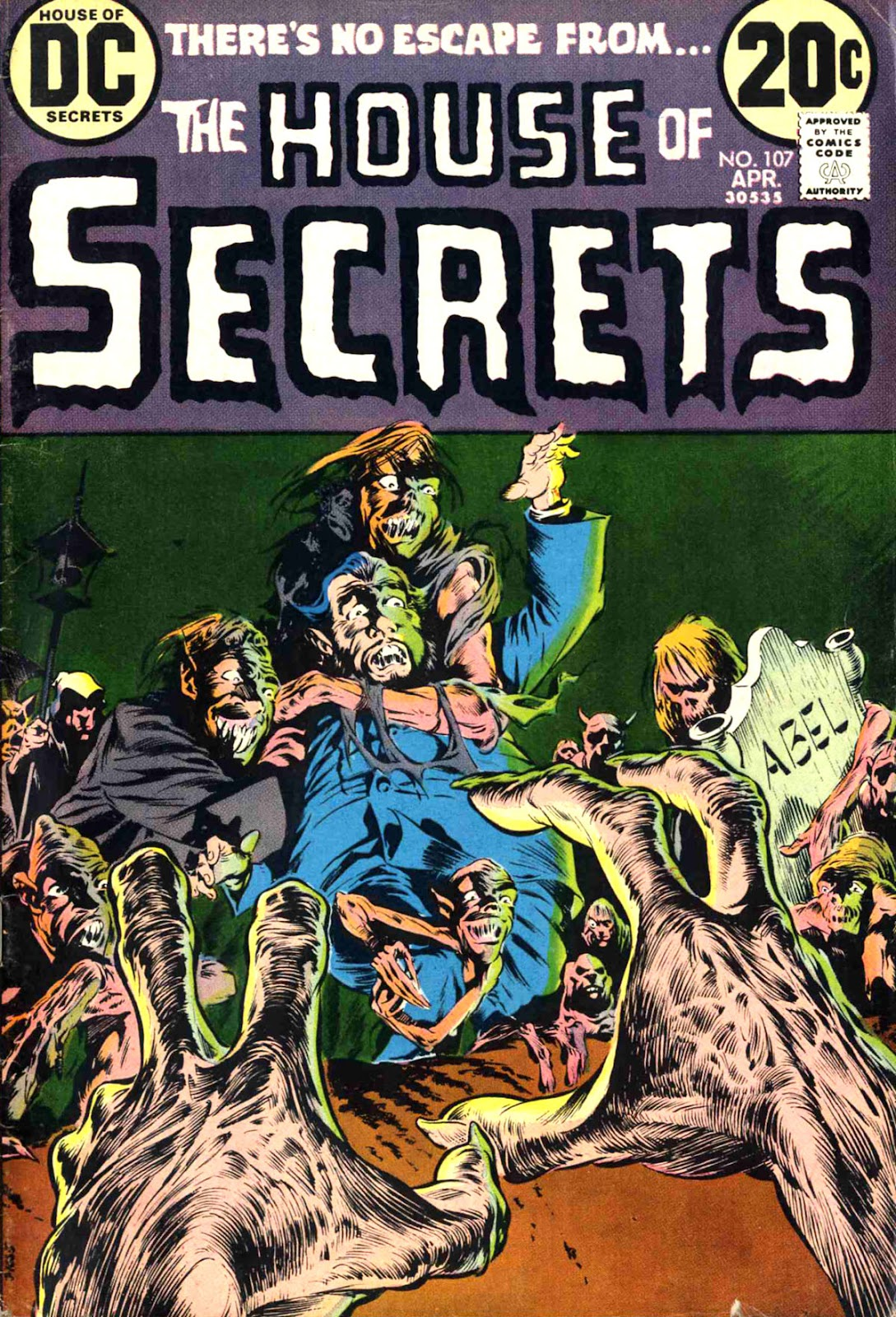 House of Secrets (1956) issue 107 - Page 1