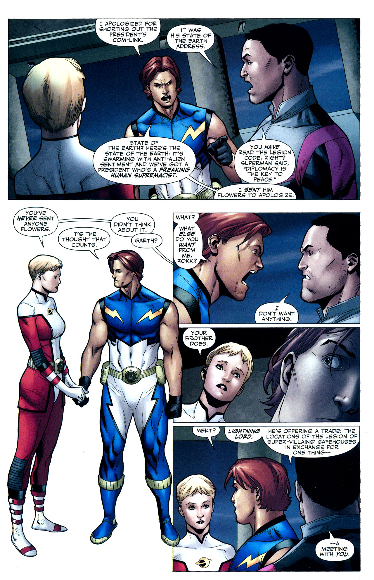 Read online Adventure Comics (2009) comic -  Issue #2 - 23