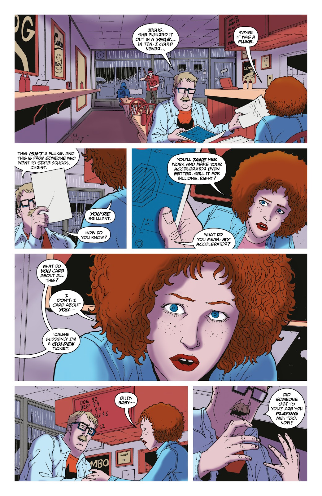 Read online She Could Fly comic -  Issue # _TPB - 93