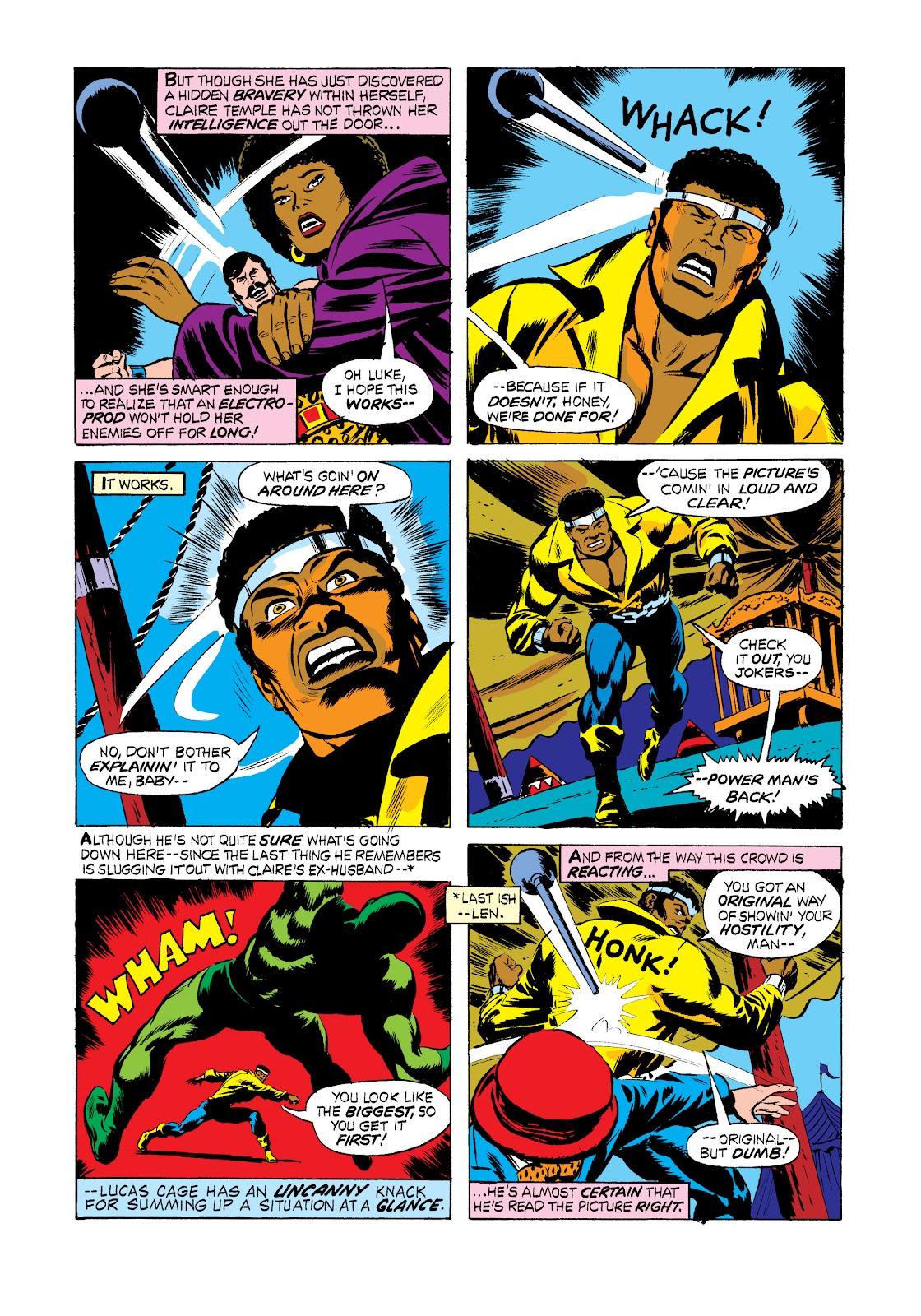 Read online Marvel Masterworks: Luke Cage, Power Man comic -  Issue # TPB 2 (Part 2) - 71