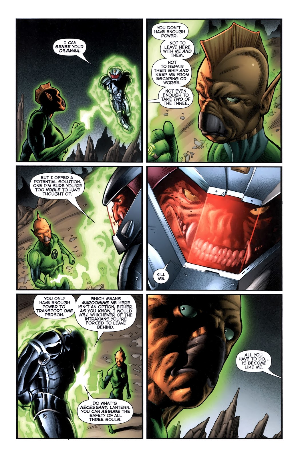 Read online Green Lantern Movie Prequel: Tomar-Re comic -  Issue # Full - 19