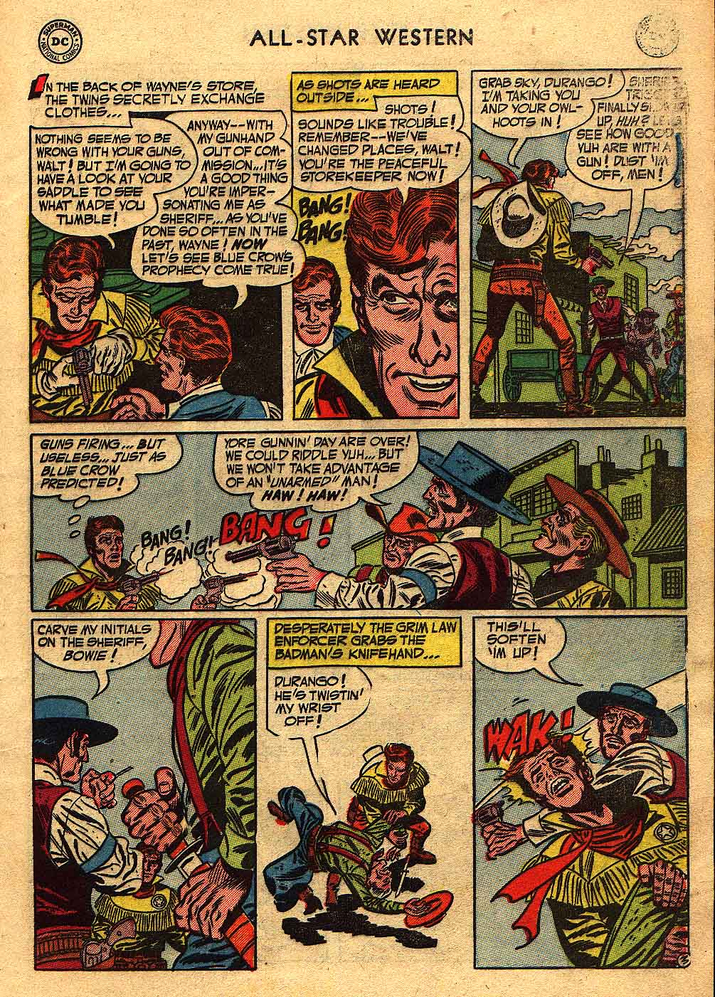 Read online All-Star Western (1951) comic -  Issue #70 - 5