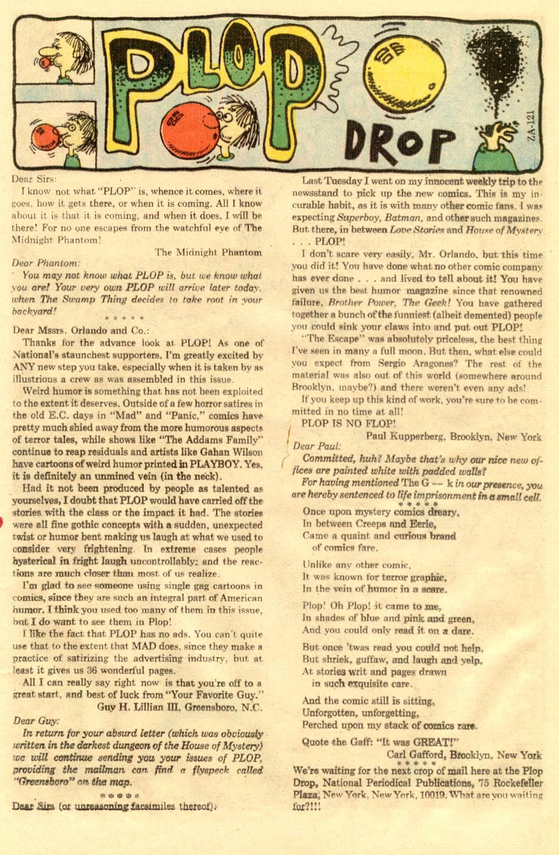 Read online Plop! comic -  Issue #2 - 13