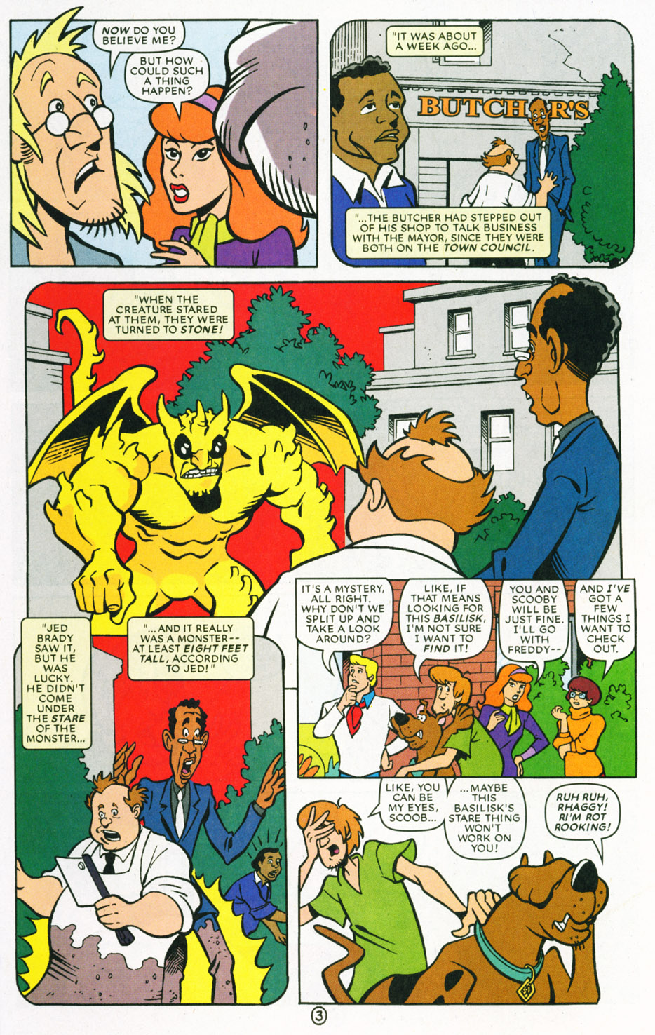 Read online Scooby-Doo (1997) comic -  Issue #70 - 4