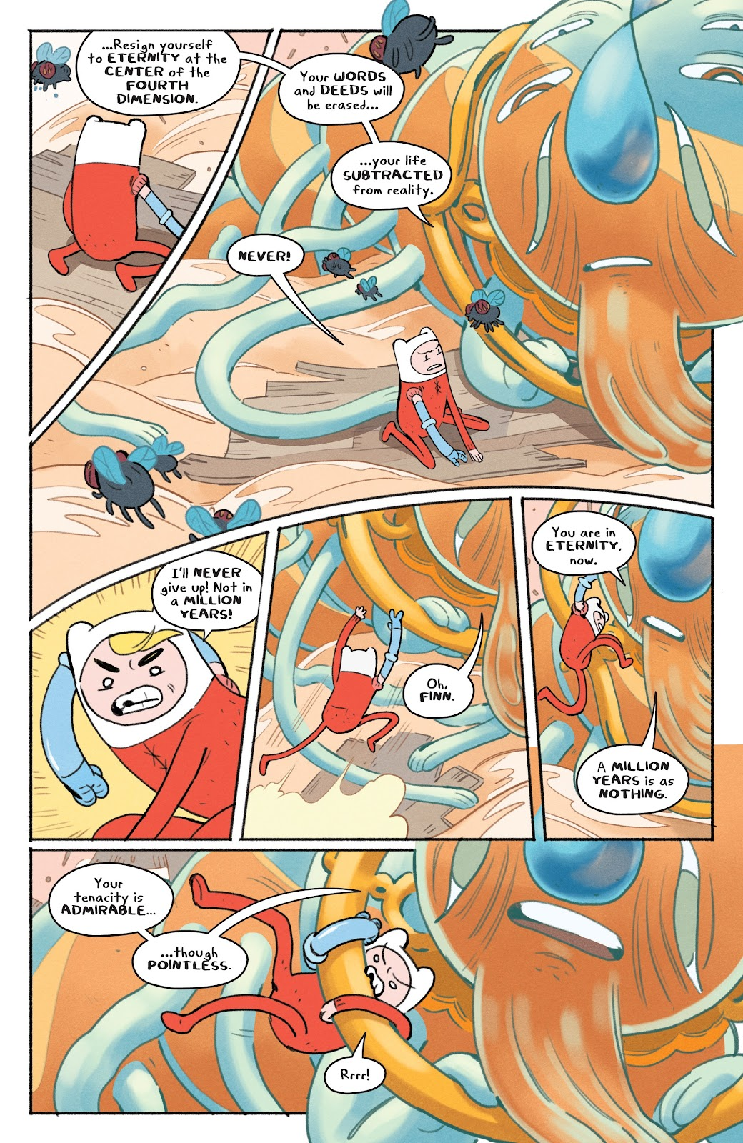 Read online Adventure Time: Beginning of the End comic -  Issue # _TPB - 32