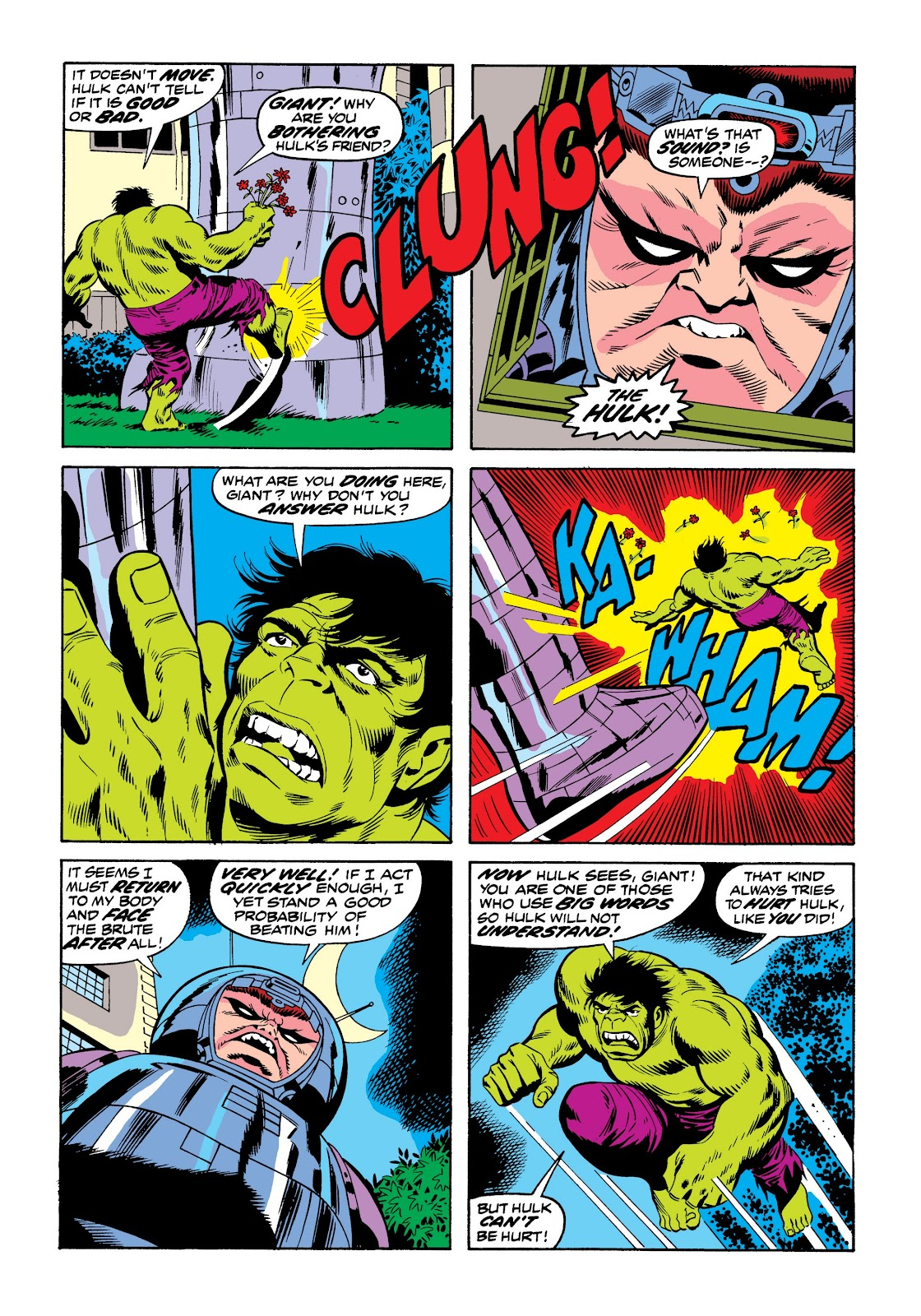 Read online Marvel Masterworks: The Incredible Hulk comic -  Issue # TPB 9 (Part 3) - 32