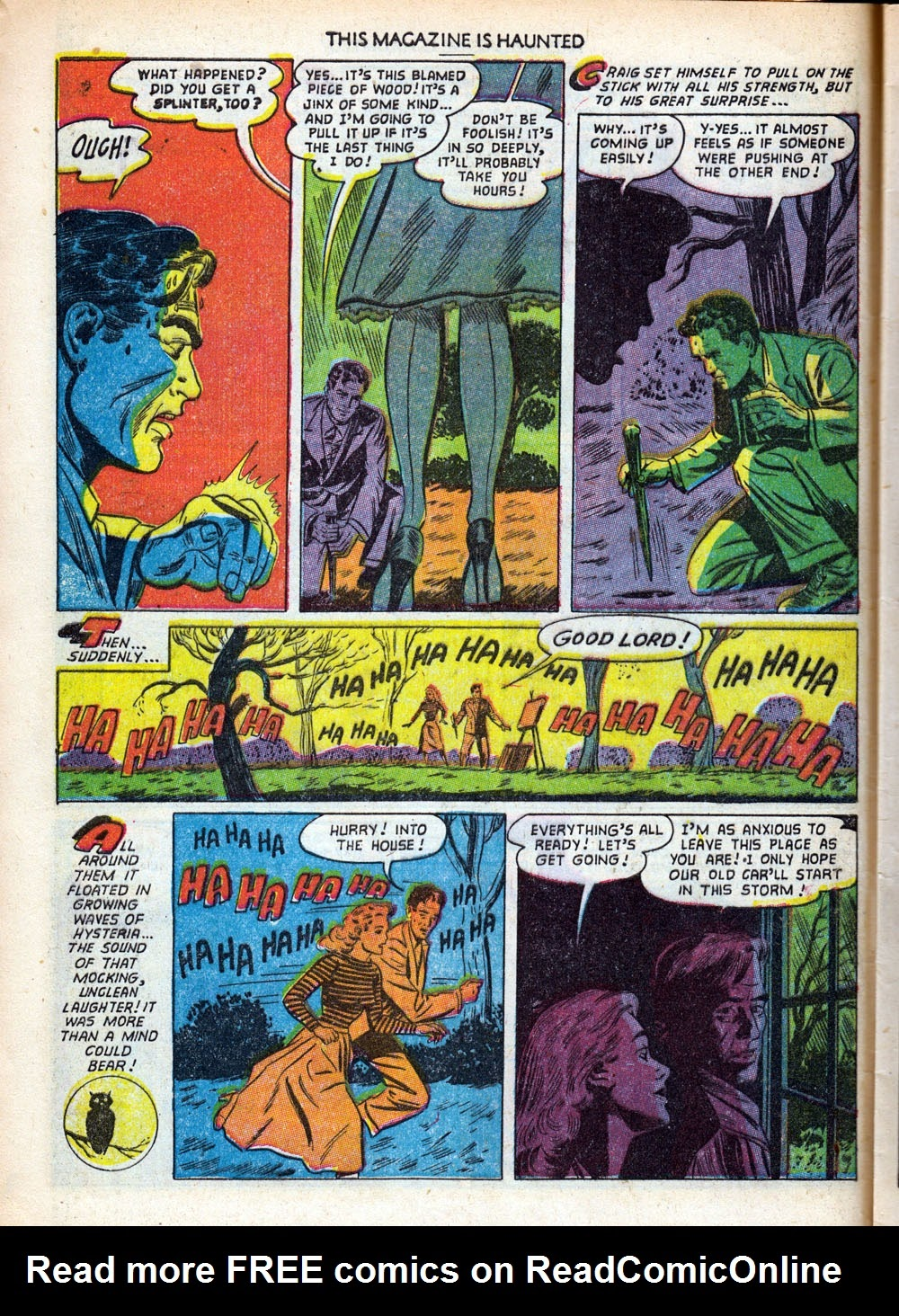 Read online This Magazine Is Haunted comic -  Issue #9 - 8