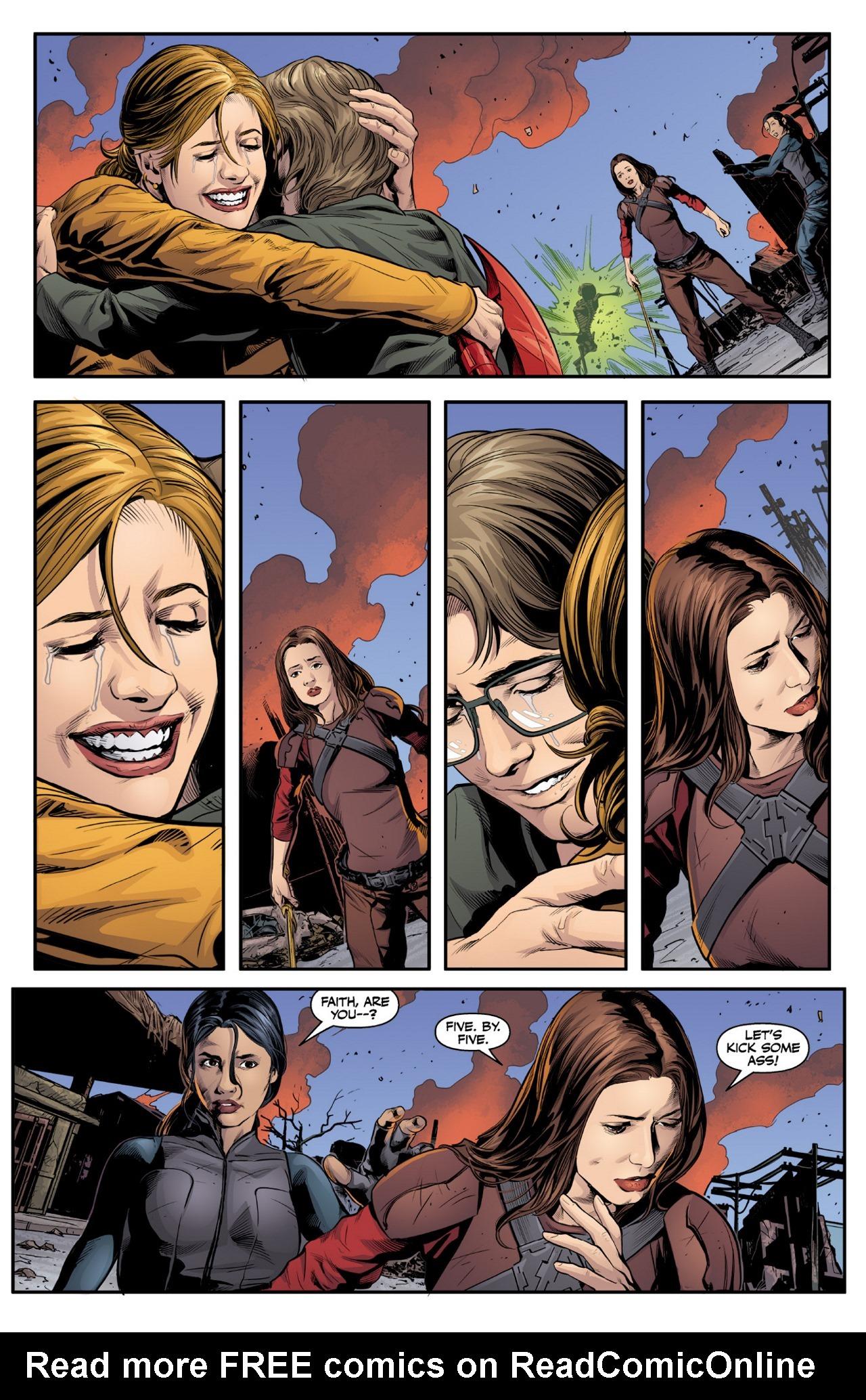 Read online Angel & Faith Season 10 comic -  Issue #1 - 19