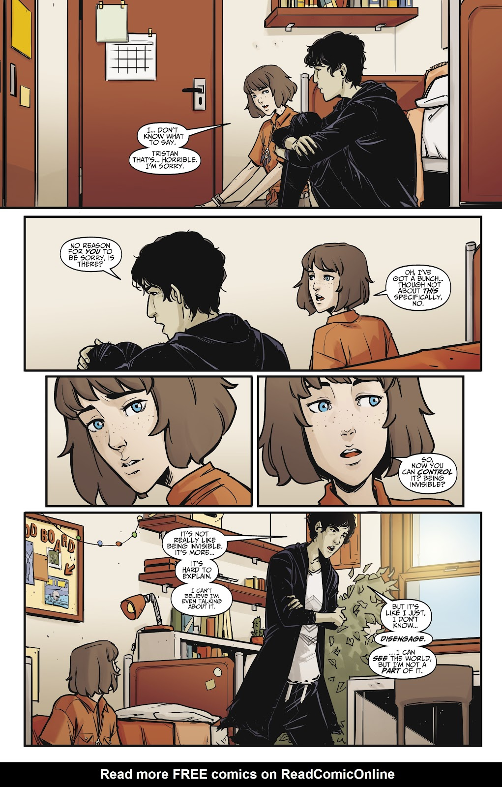 Read online Life is Strange comic -  Issue #7 - 12