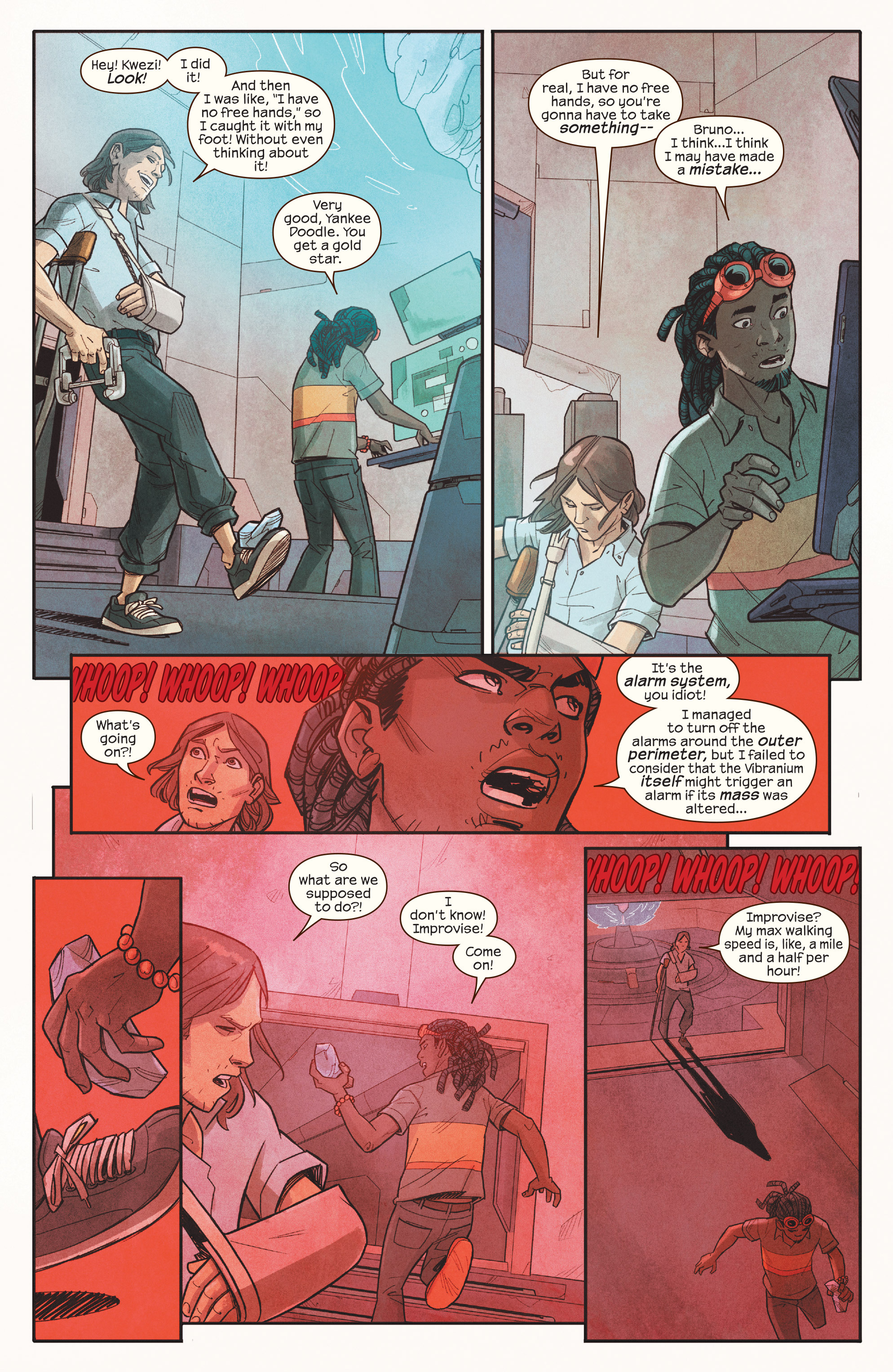 Read online Ms. Marvel (2016) comic -  Issue #18 - 15