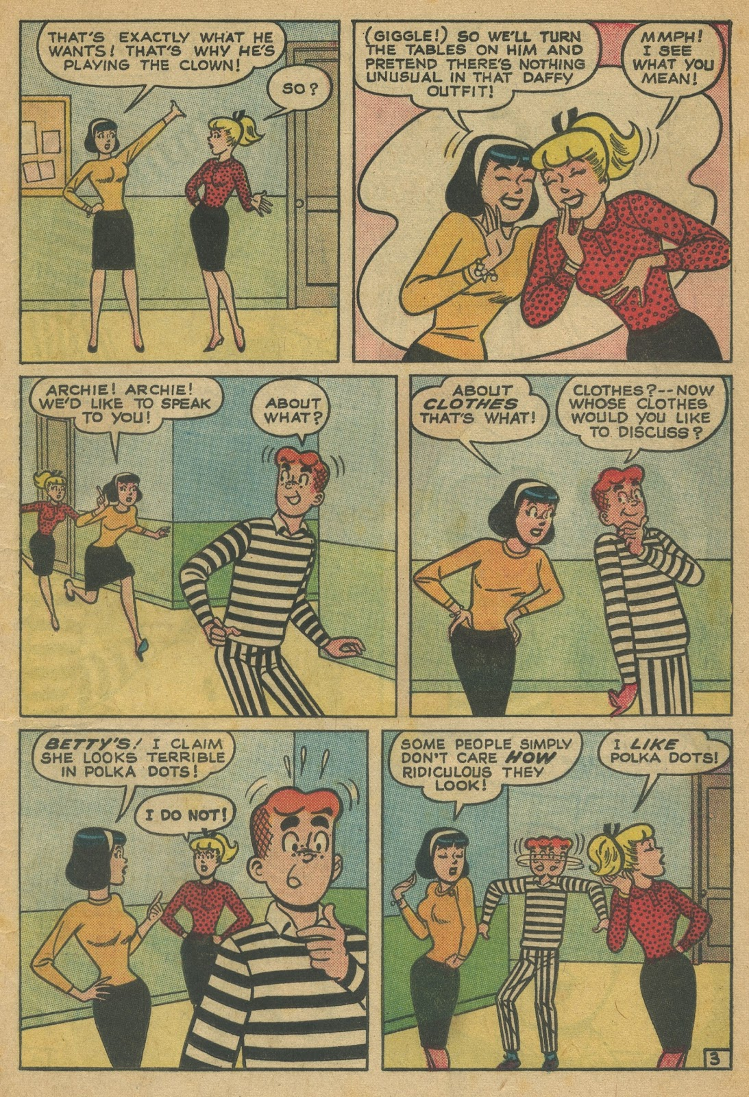 Read online Archie (1960) comic -  Issue #152 - 5
