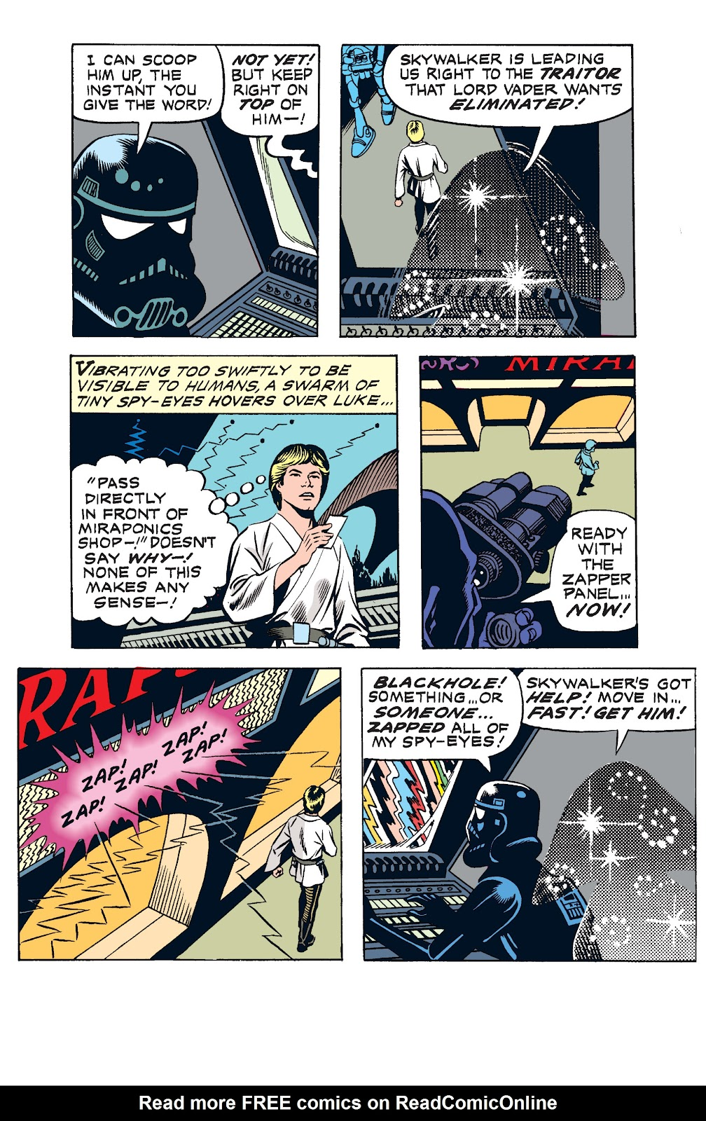 Read online Star Wars Legends: The Newspaper Strips - Epic Collection comic -  Issue # TPB (Part 2) - 1