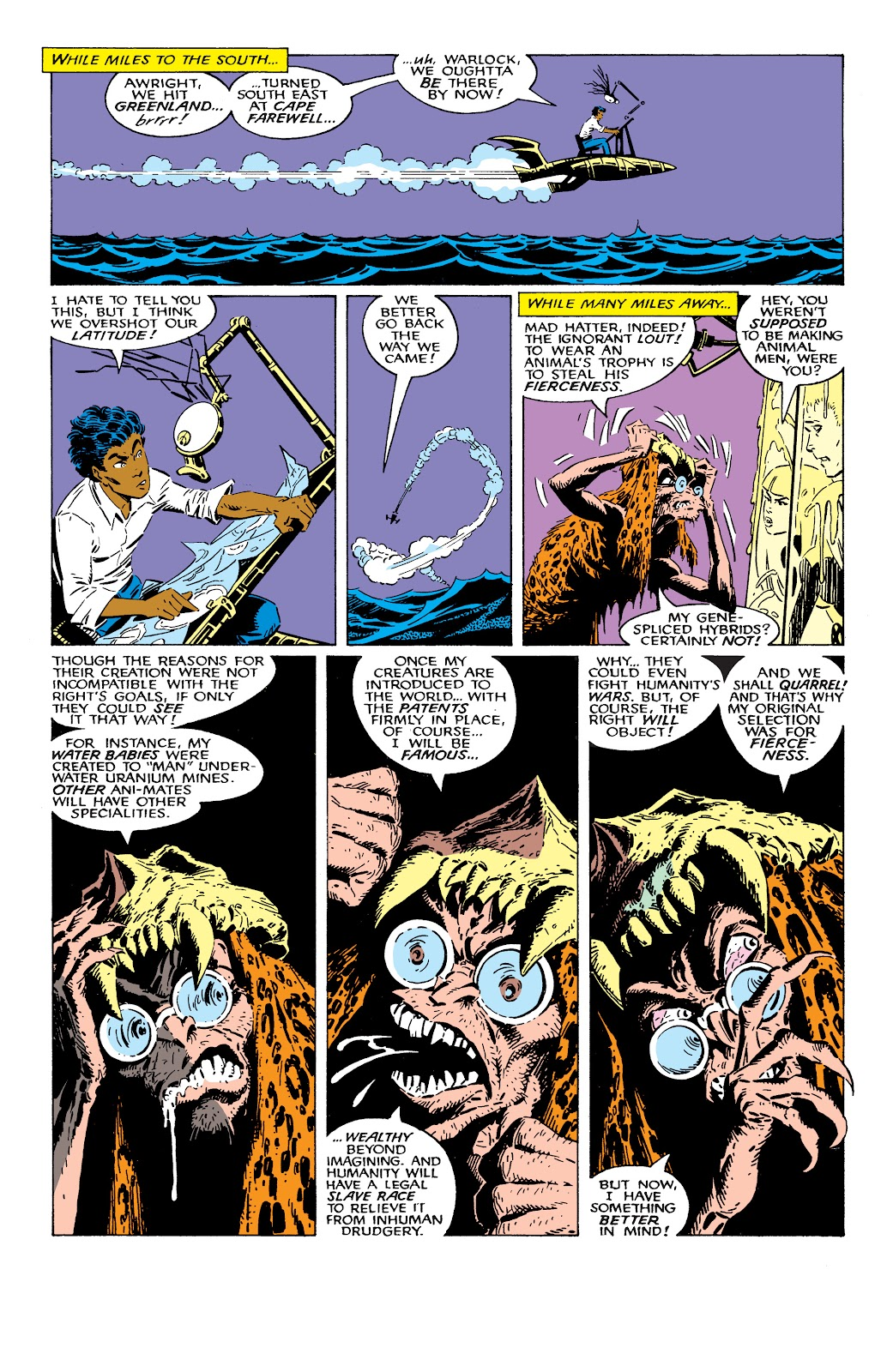 Read online X-Men Milestones: Fall of the Mutants comic -  Issue # TPB (Part 2) - 32