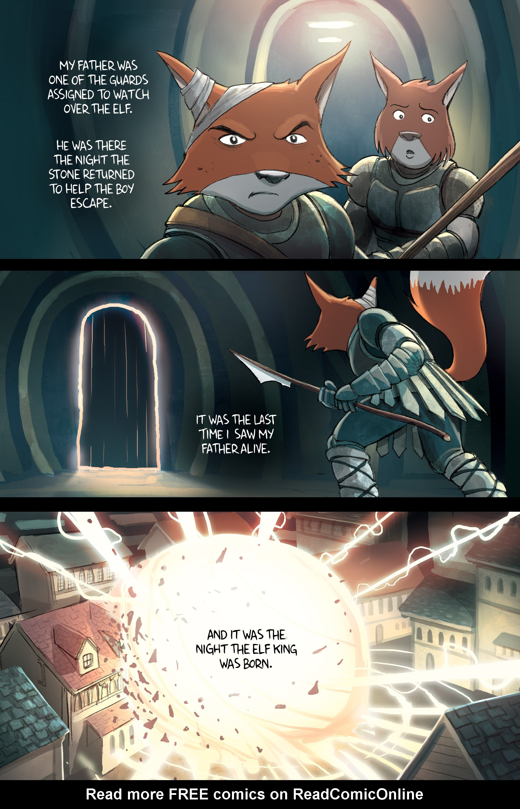 Read online Amulet comic -  Issue #2 - 124