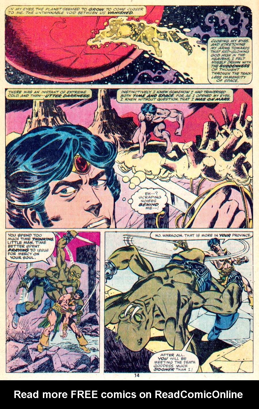 John Carter Warlord of Mars issue 1 - Page 9