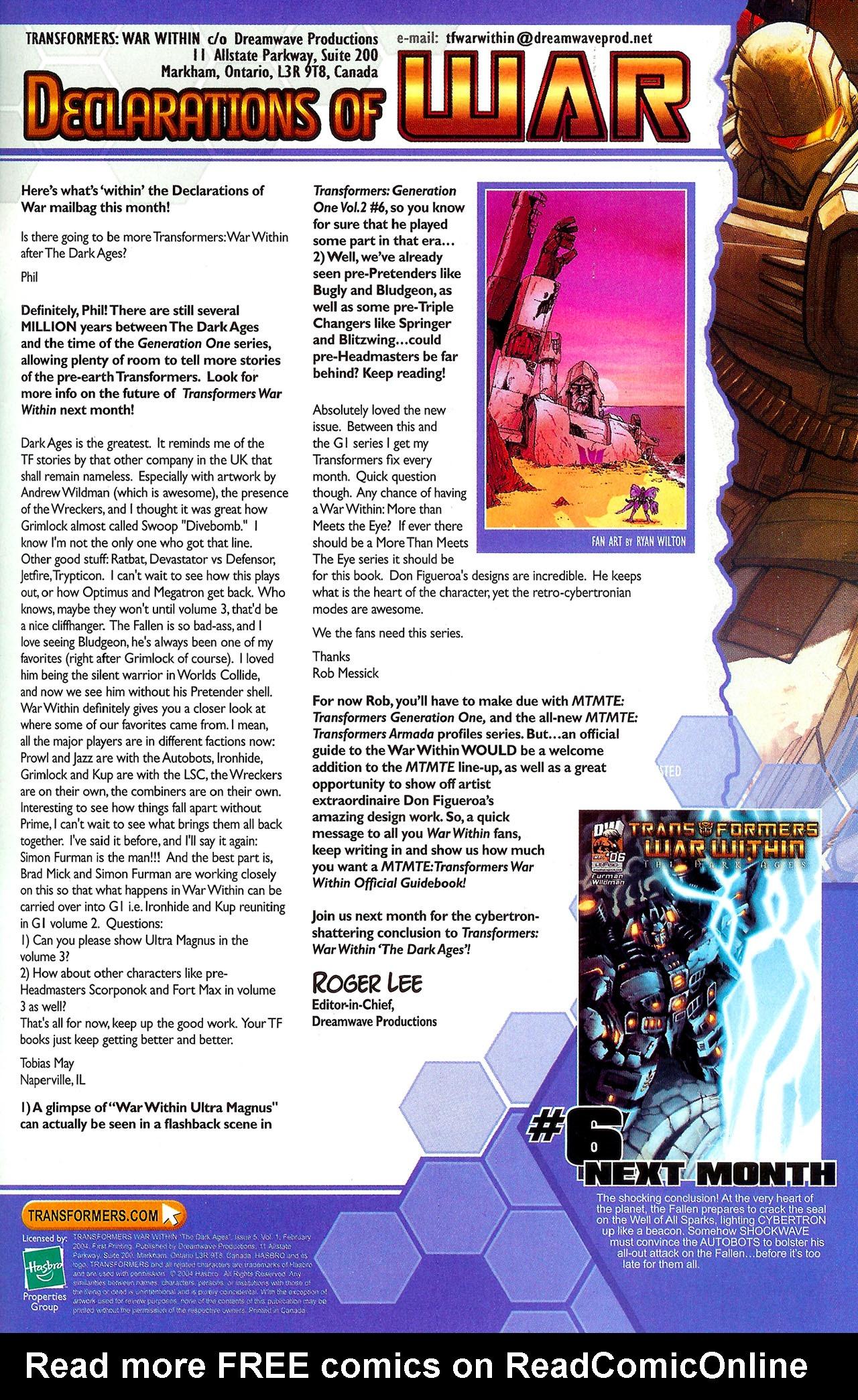"""Read online Transformers War Within: """"The Dark Ages"""" comic -  Issue #5 - 23"""