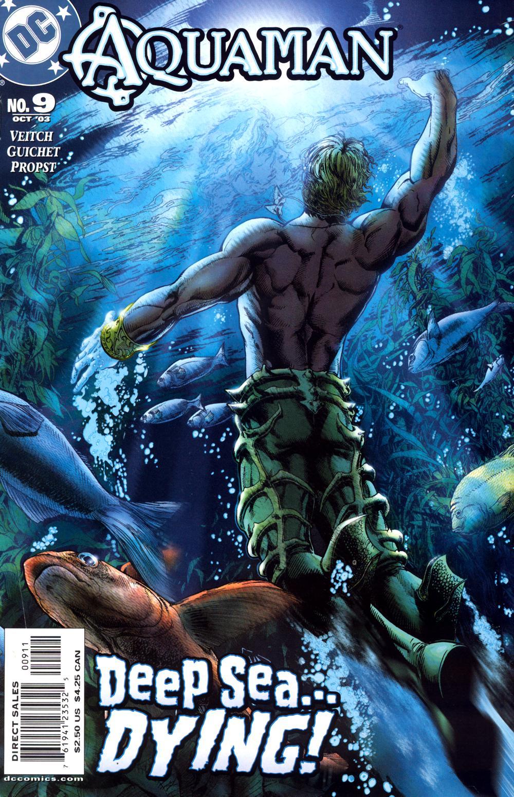 Read online Aquaman (2003) comic -  Issue #9 - 1