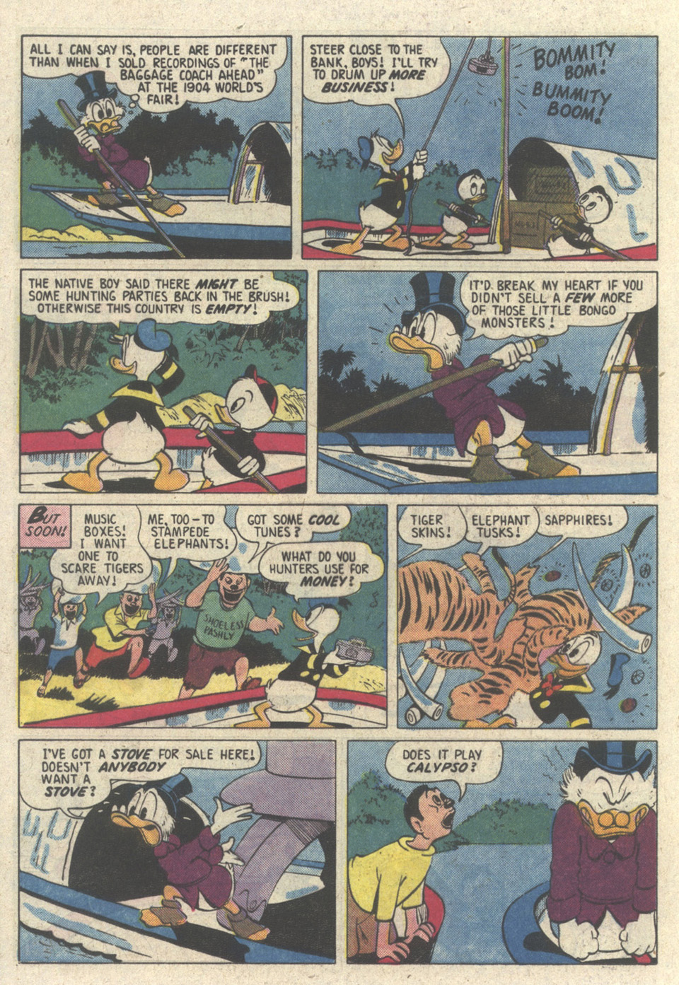 Read online Uncle Scrooge (1953) comic -  Issue #213 - 16