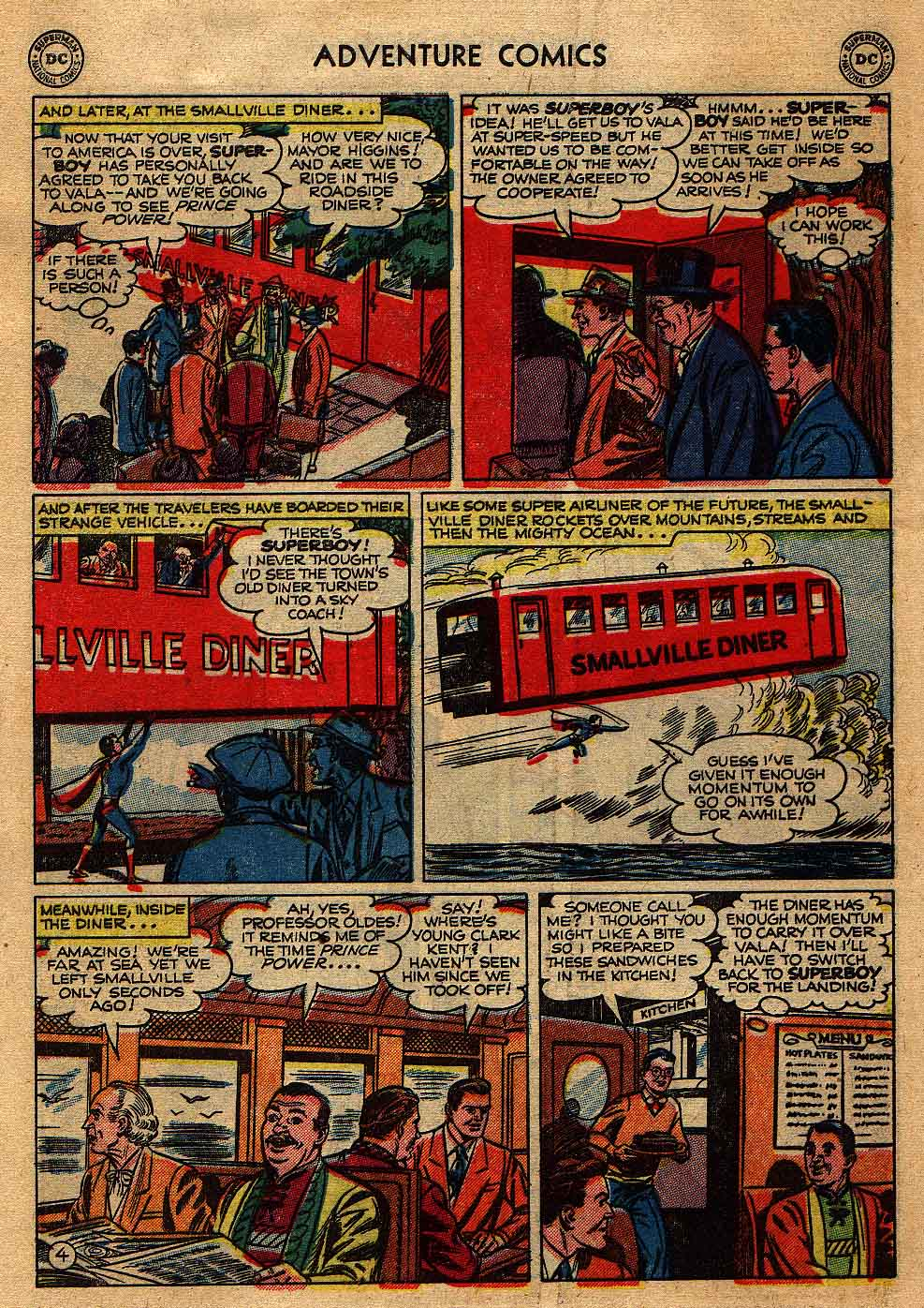 Read online Adventure Comics (1938) comic -  Issue #175 - 6