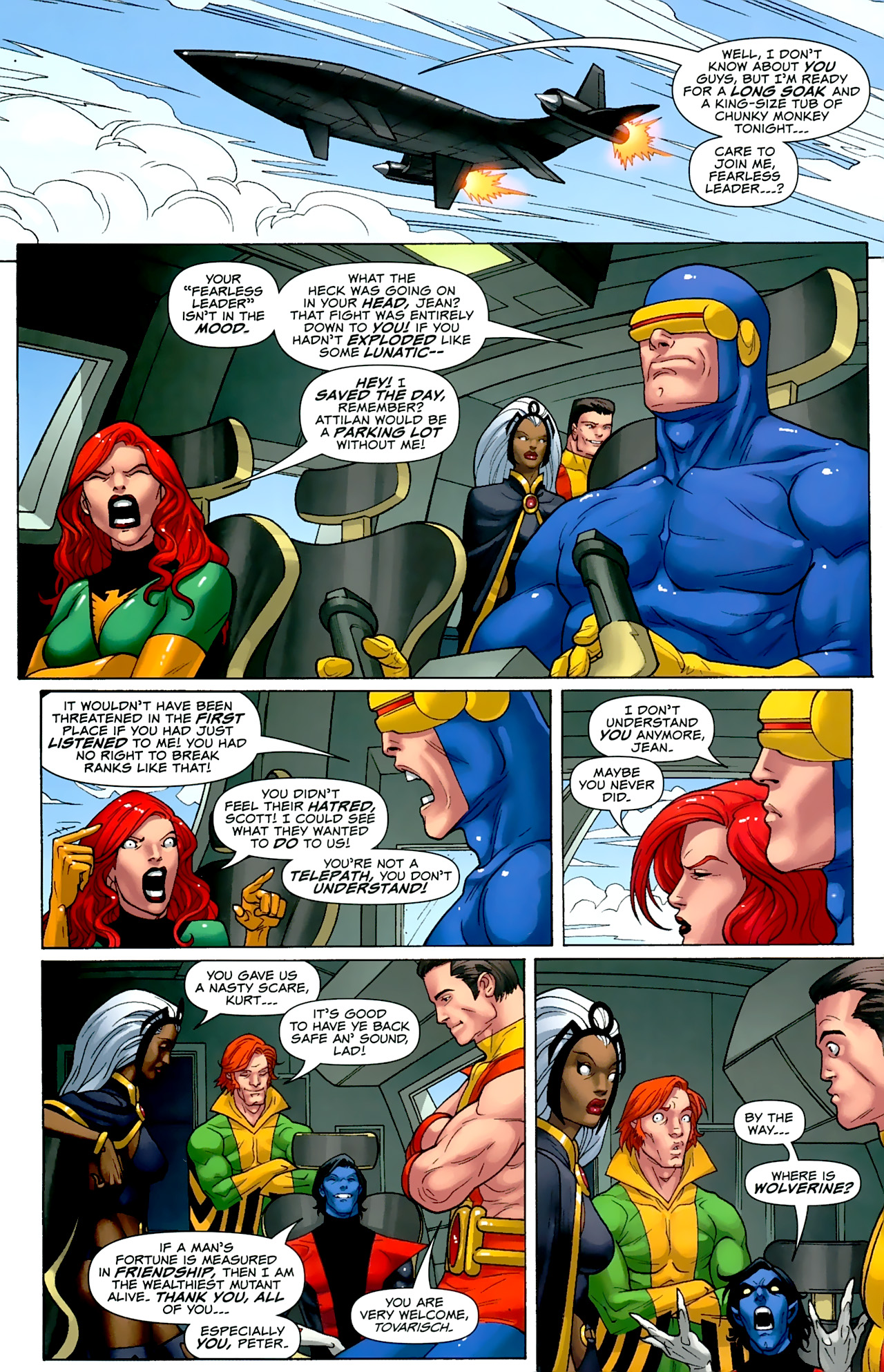 Read online Uncanny X-Men: First Class comic -  Issue #2 - 22