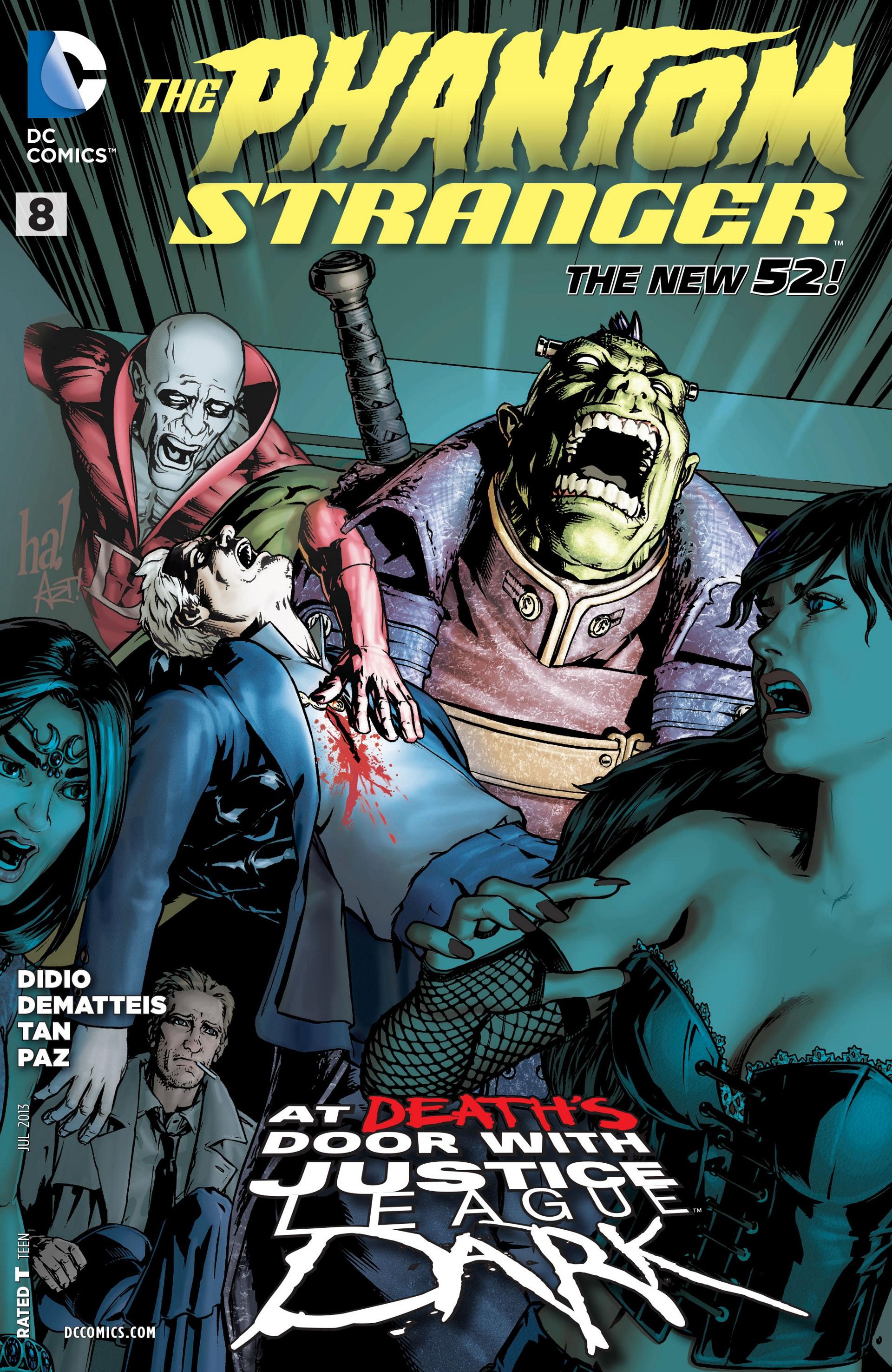 Read online Trinity of Sin: The Phantom Stranger comic -  Issue #8 - 1