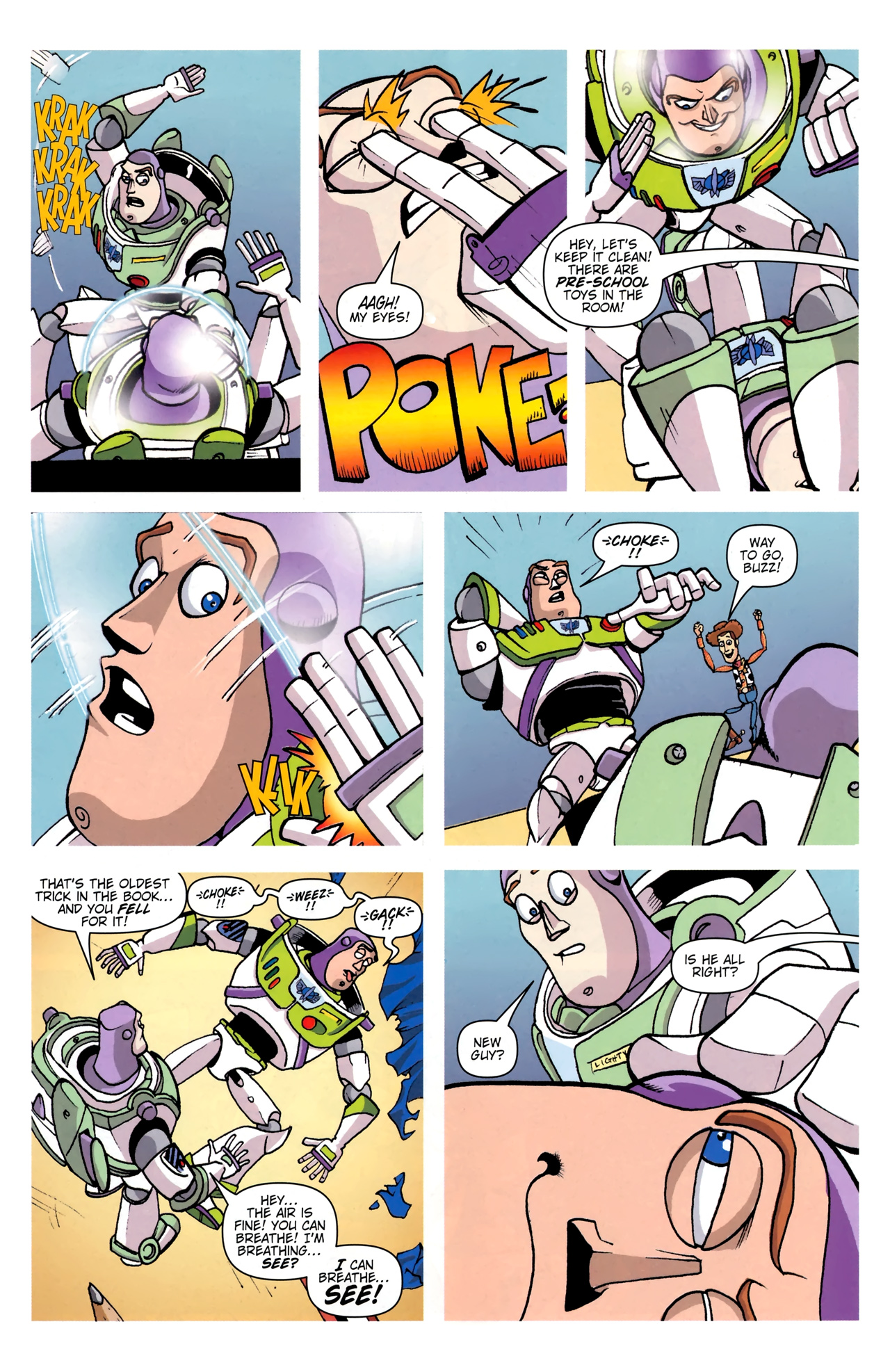 Read online Toy Story (2009) comic -  Issue #0 - 15