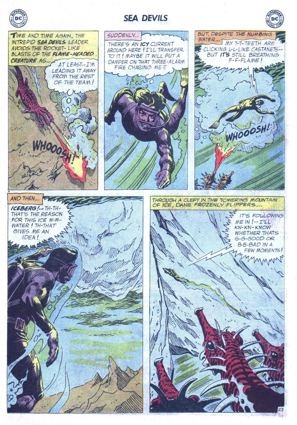 Read online Sea Devils comic -  Issue #6 - 32