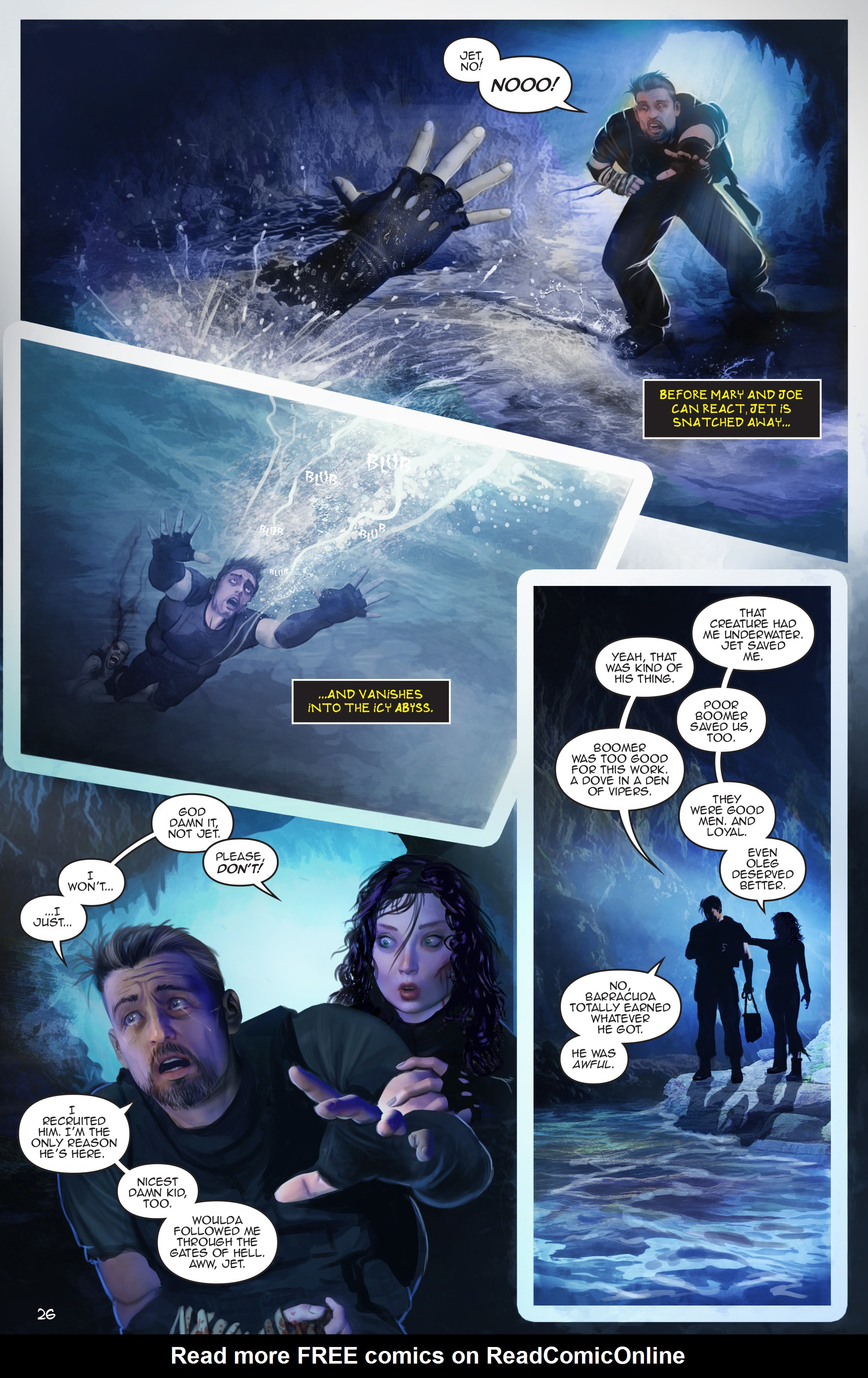 Read online Escape from Jesus Island comic -  Issue #4 - 26