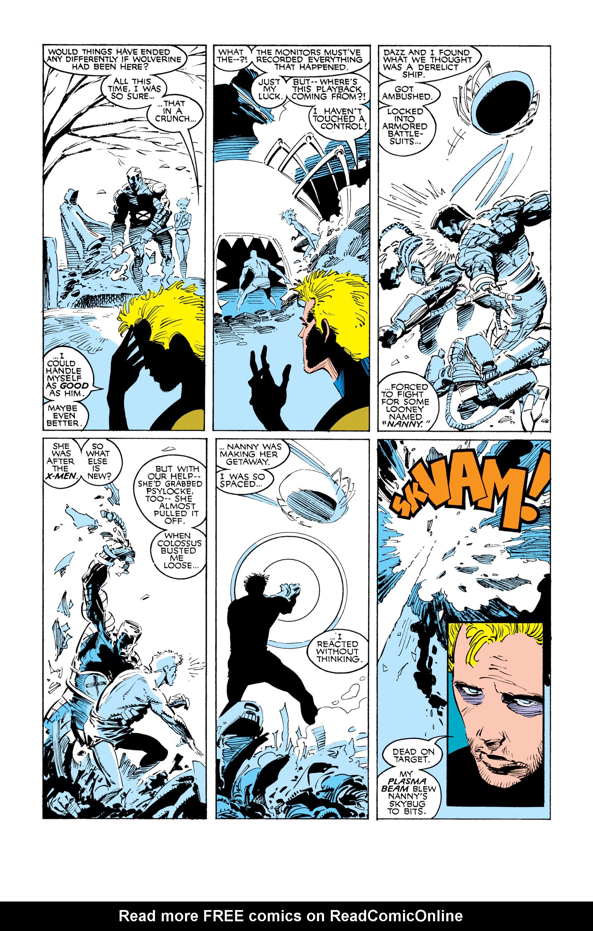 Read online Uncanny X-Men (1963) comic -  Issue #249 - 5