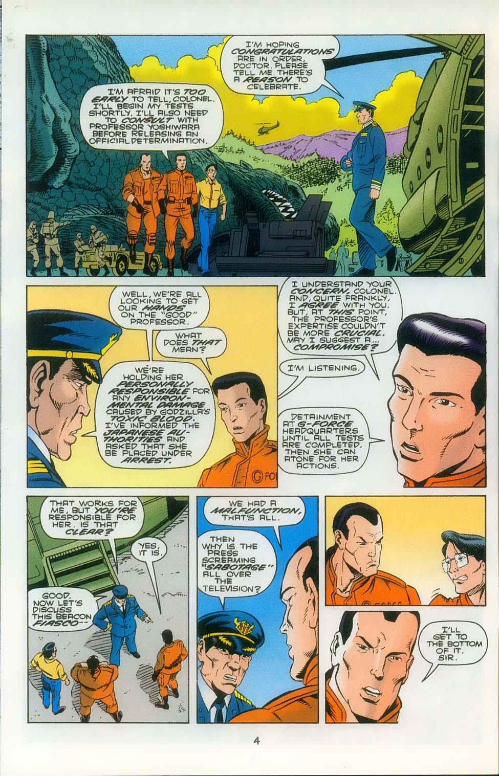 Godzilla (1995) Issue #3 #4 - English 6