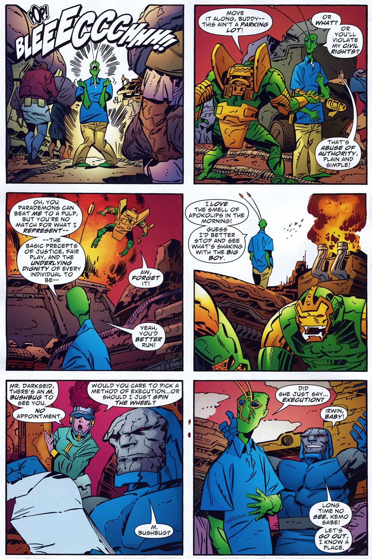 Read online Ambush Bug: Year None comic -  Issue #3 - 12